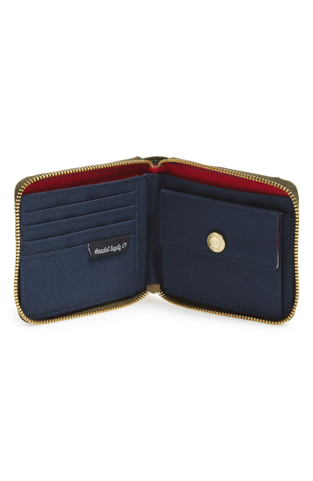 Alternate Image 2  - Herschel Supply Co. 'Walt' Zip Wallet