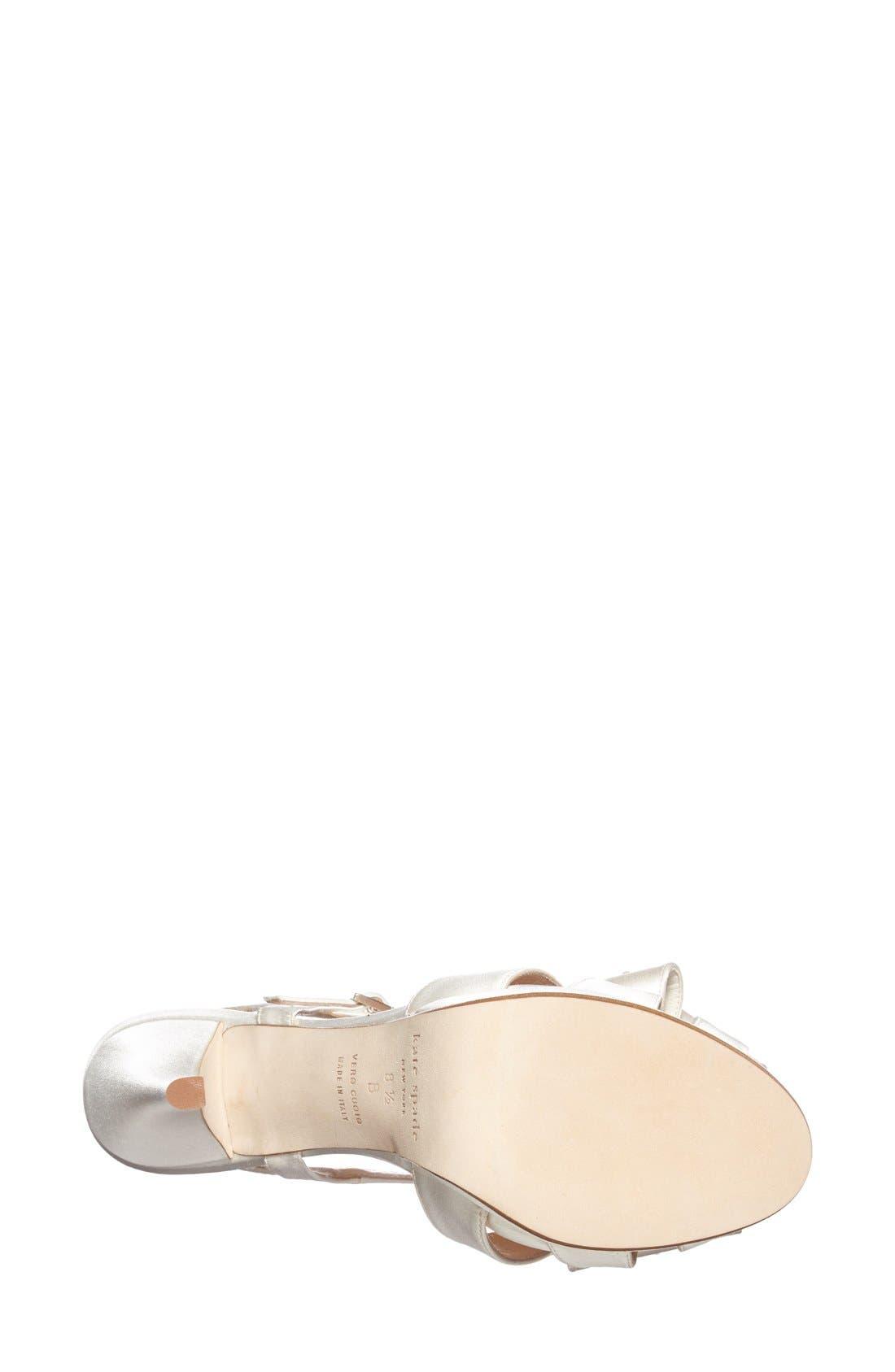 Alternate Image 3  - kate spade new york 'ribbon' sandal (Women)