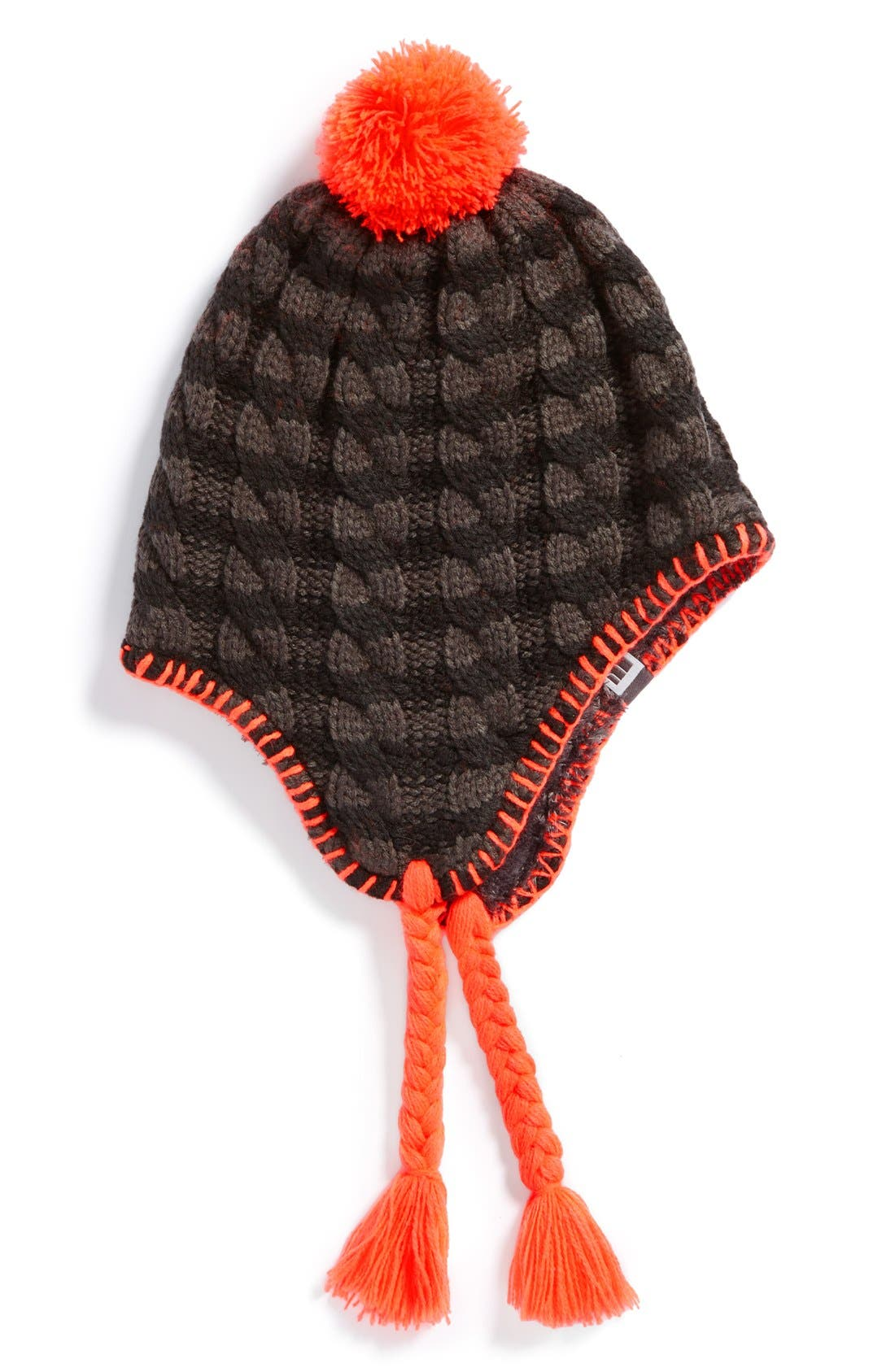 Main Image - The North Face 'Fuzzy Earflap' Beanie (Big Girls) (Online Only)