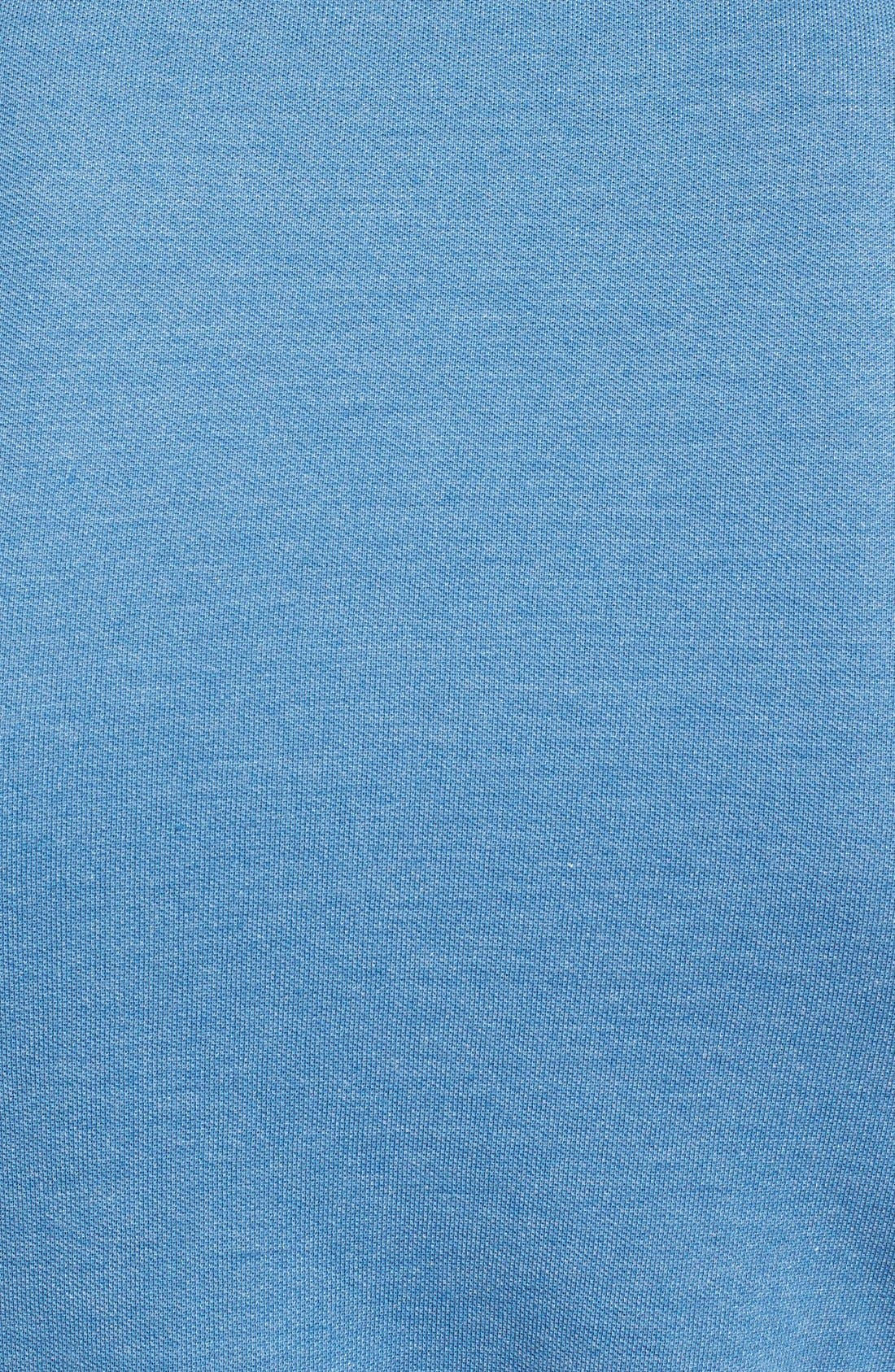 Alternate Image 3  - TOPMAN BLUE BARLOW POLO