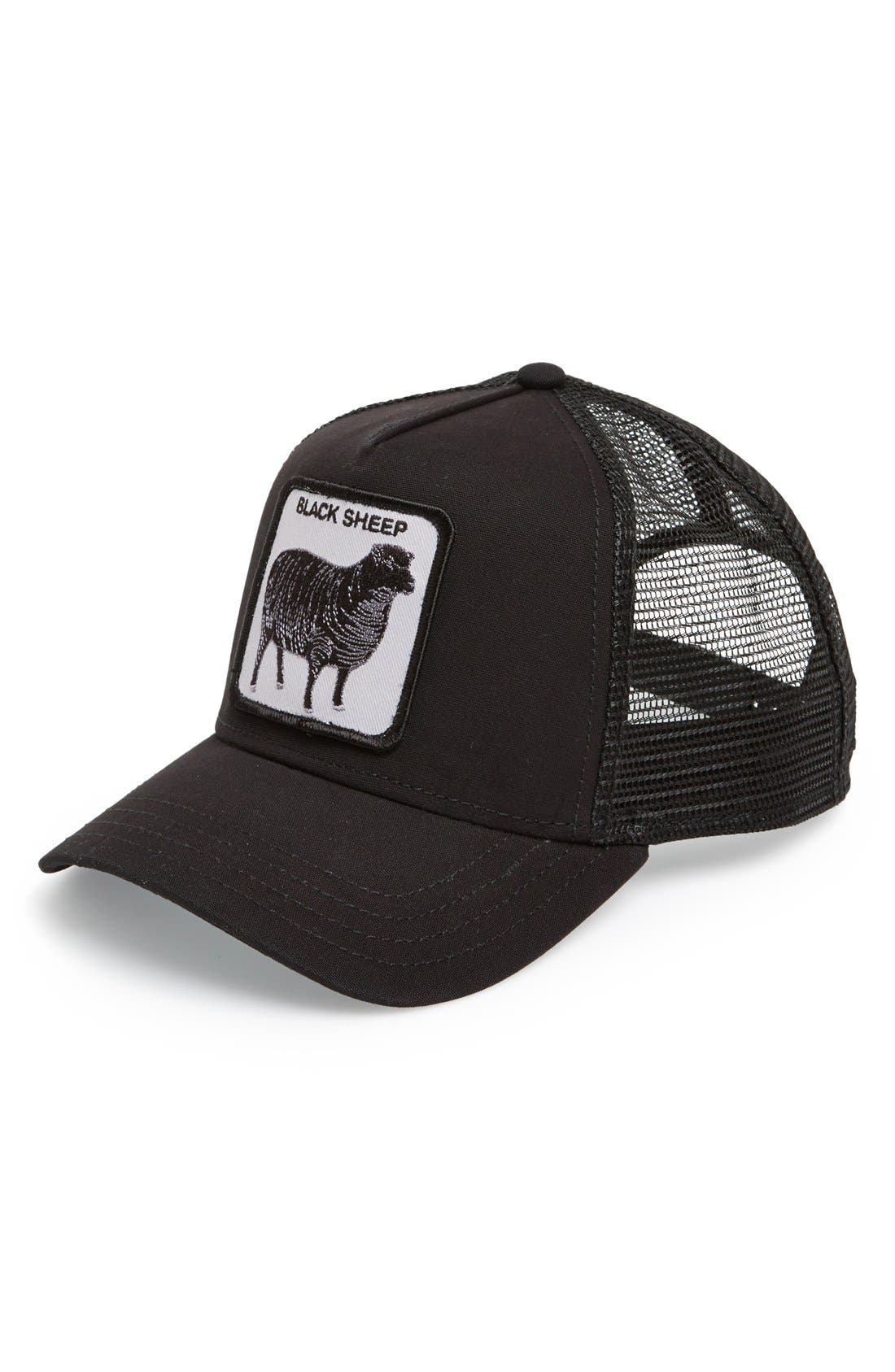 GOORIN BROTHERS 'Animal Farm - Naughty Lamb' Trucker
