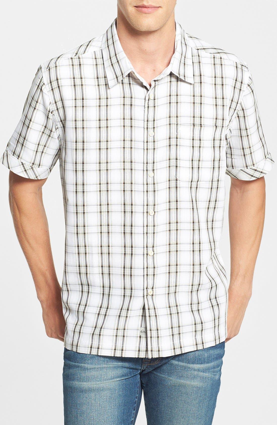 Main Image - Quiksilver Waterman Collection 'Seal Rocks' Regular Fit Sport Shirt