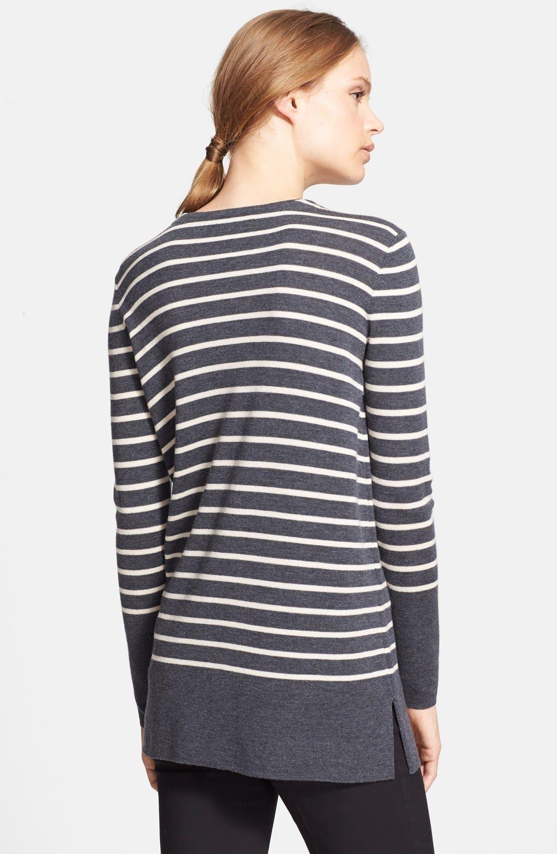 Alternate Image 2  - Tory Burch 'Seraphina' Stripe Tunic