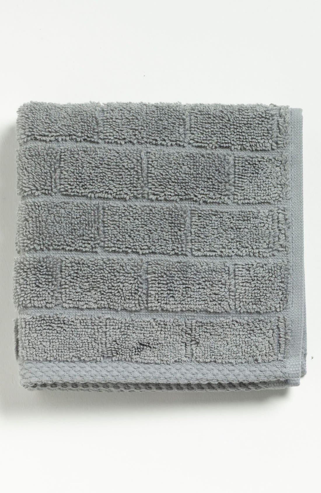 Alternate Image 1 Selected - Waterworks Studio 'Subway' Combed Cotton Washcloth (Online Only)