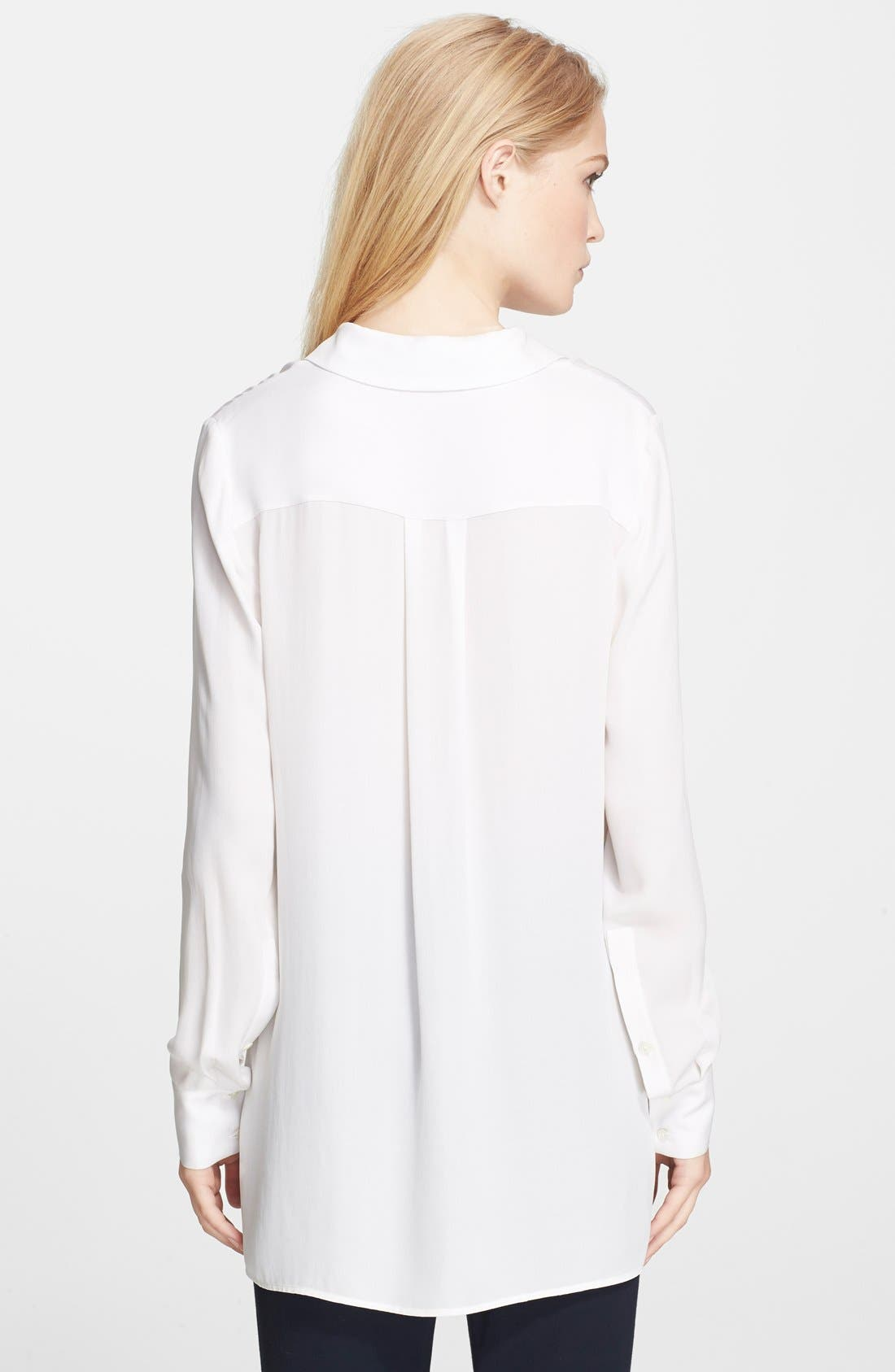 Alternate Image 2  - Vince 'Classic' Button Front Top