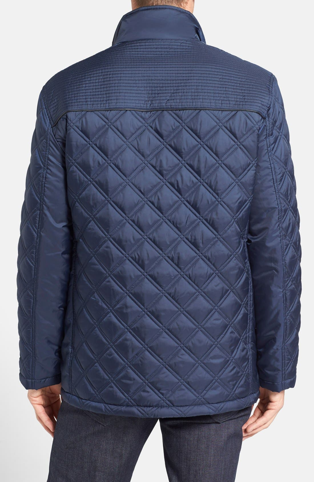 Alternate Image 2  - Marc New York by Andrew Marc 'Patton' Quilted Field Jacket