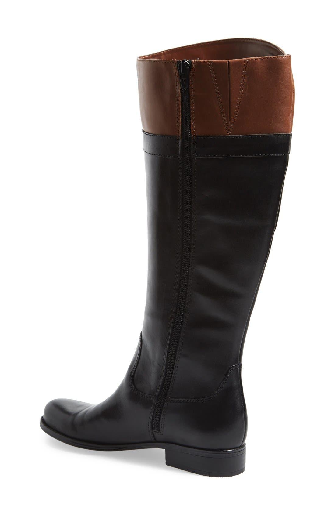 Alternate Image 2  - Naturalizer 'Josette' Knee High Boot (Wide Calf) (Women)