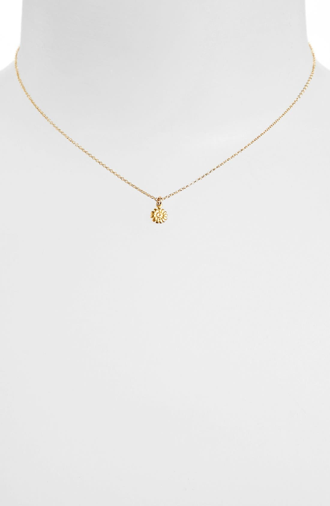 Alternate Image 2  - Dogeared 'Flower Girl' Pendant Necklace (Nordstrom Exclusive)