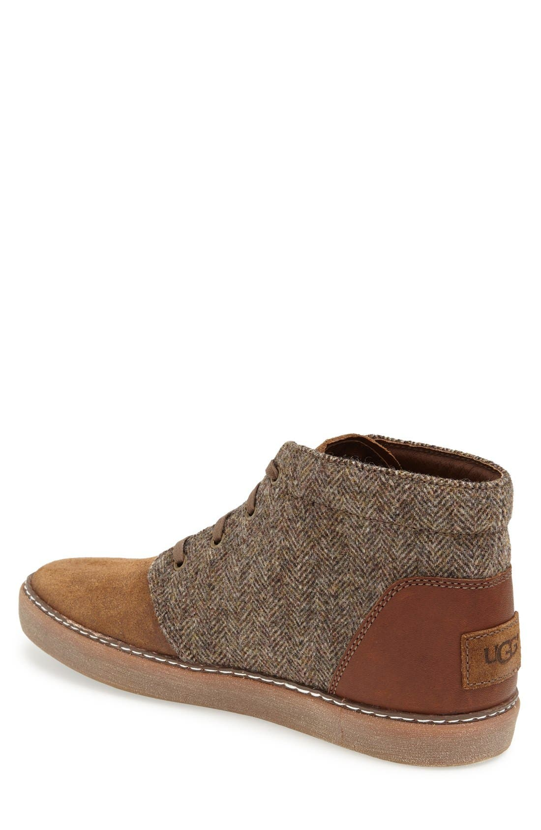 Alternate Image 2  - UGG® 'Alin' Tweed Chukka Boot (Men)