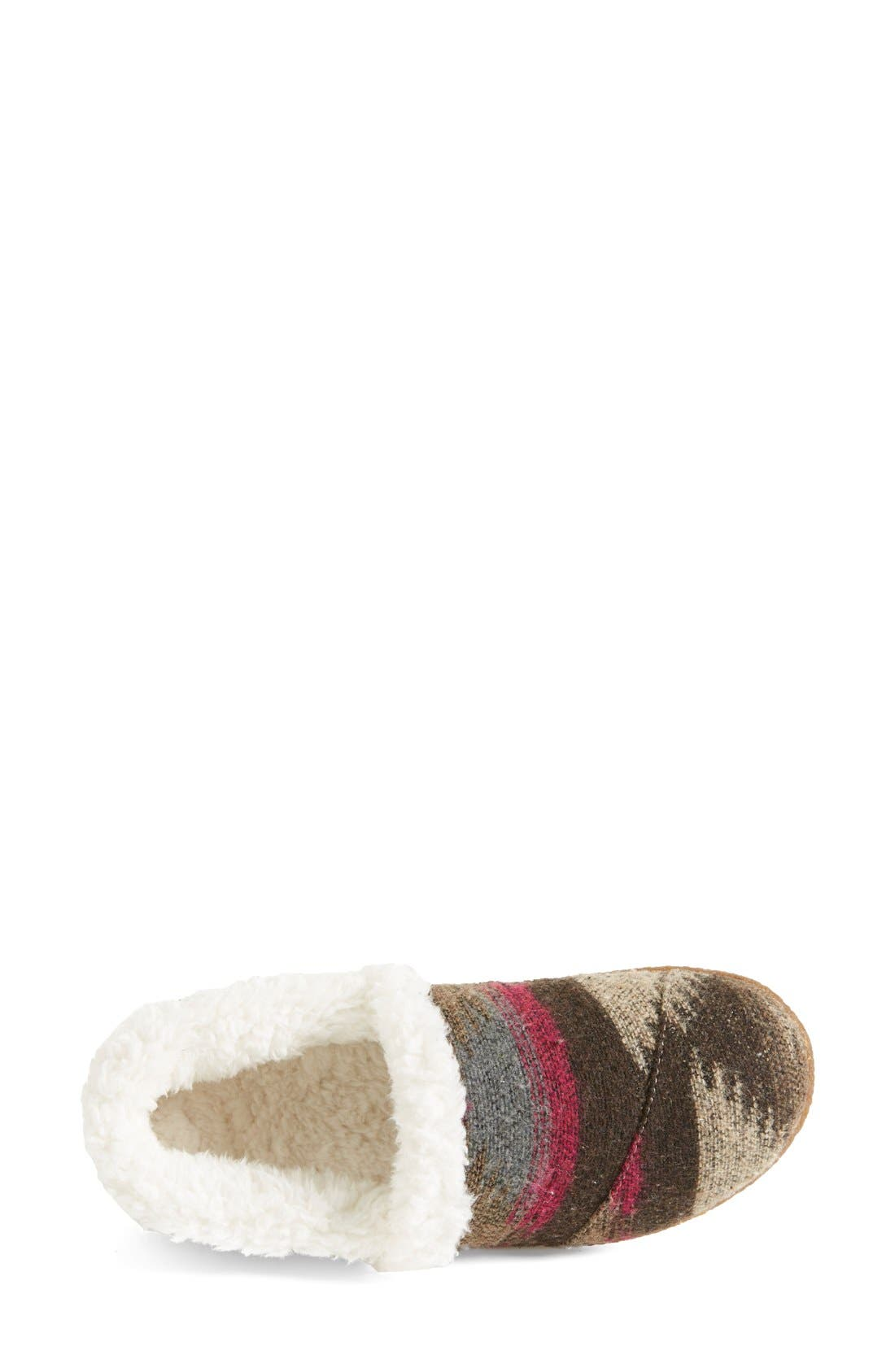 Alternate Image 3  - TOMS 'Classic - Wool' Slippers (Women)
