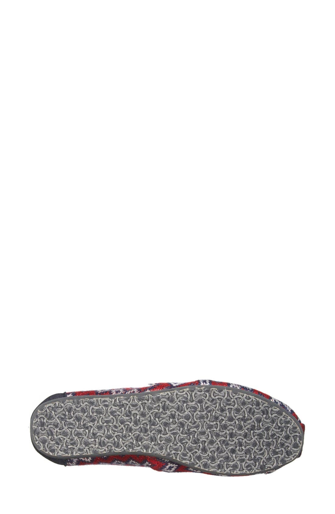 Alternate Image 4  - TOMS 'Classic - Geo Knit' Slip-On (Women)
