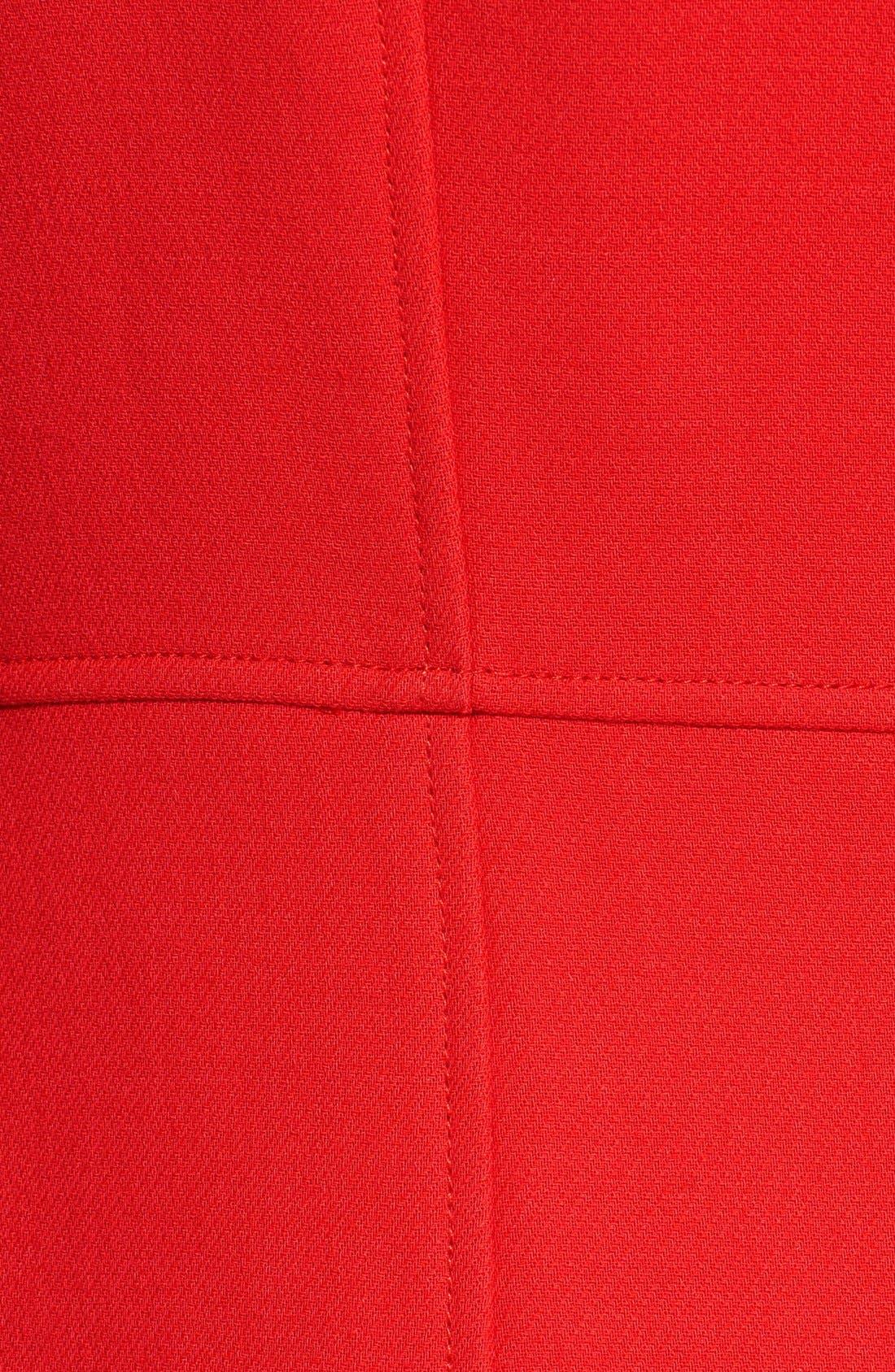 Alternate Image 3  - Diane von Furstenberg 'Mirabella' Wool Blend Coat