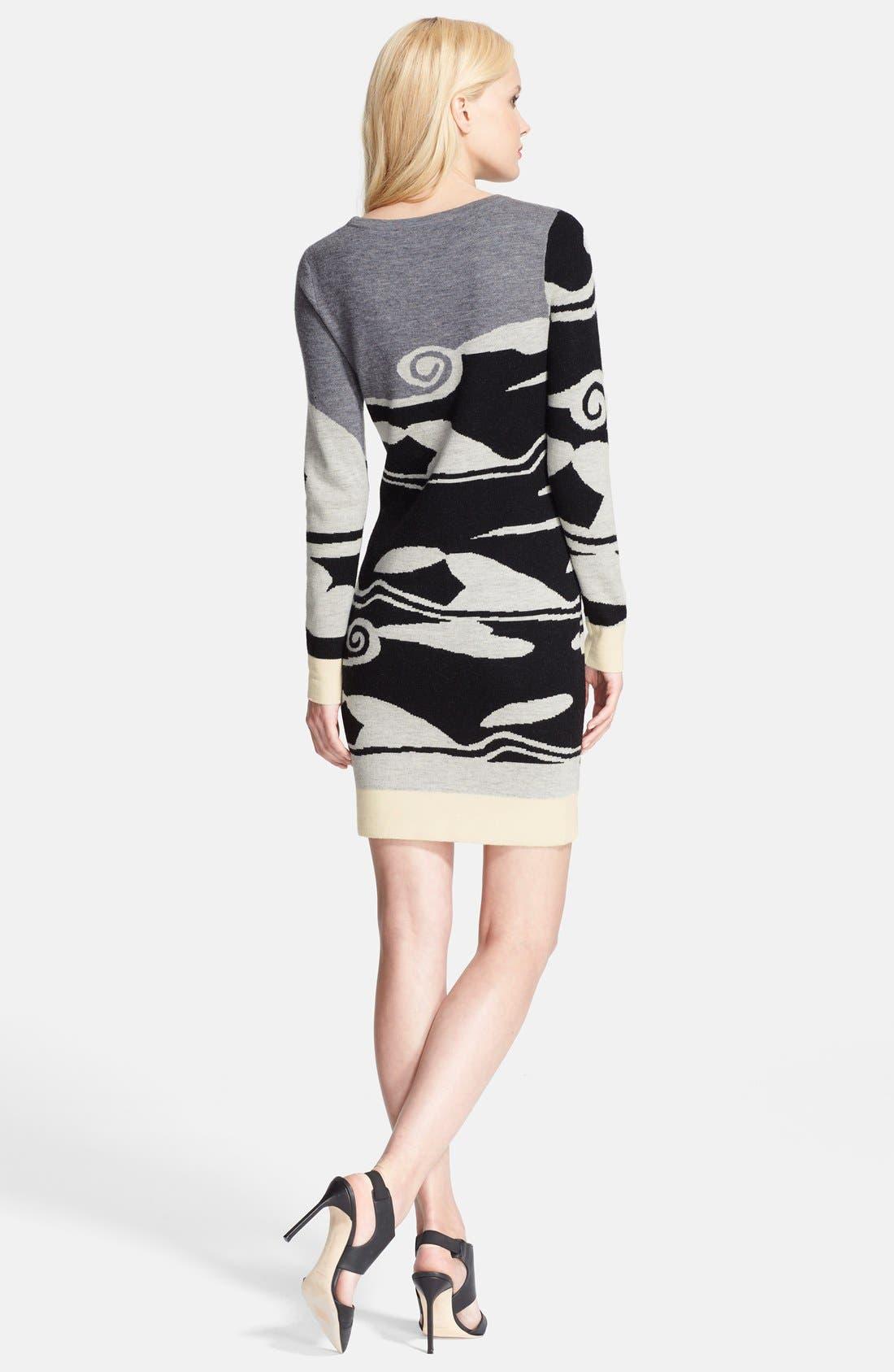 Alternate Image 2  - Diane von Furstenberg 'Look 3' Wool Dress