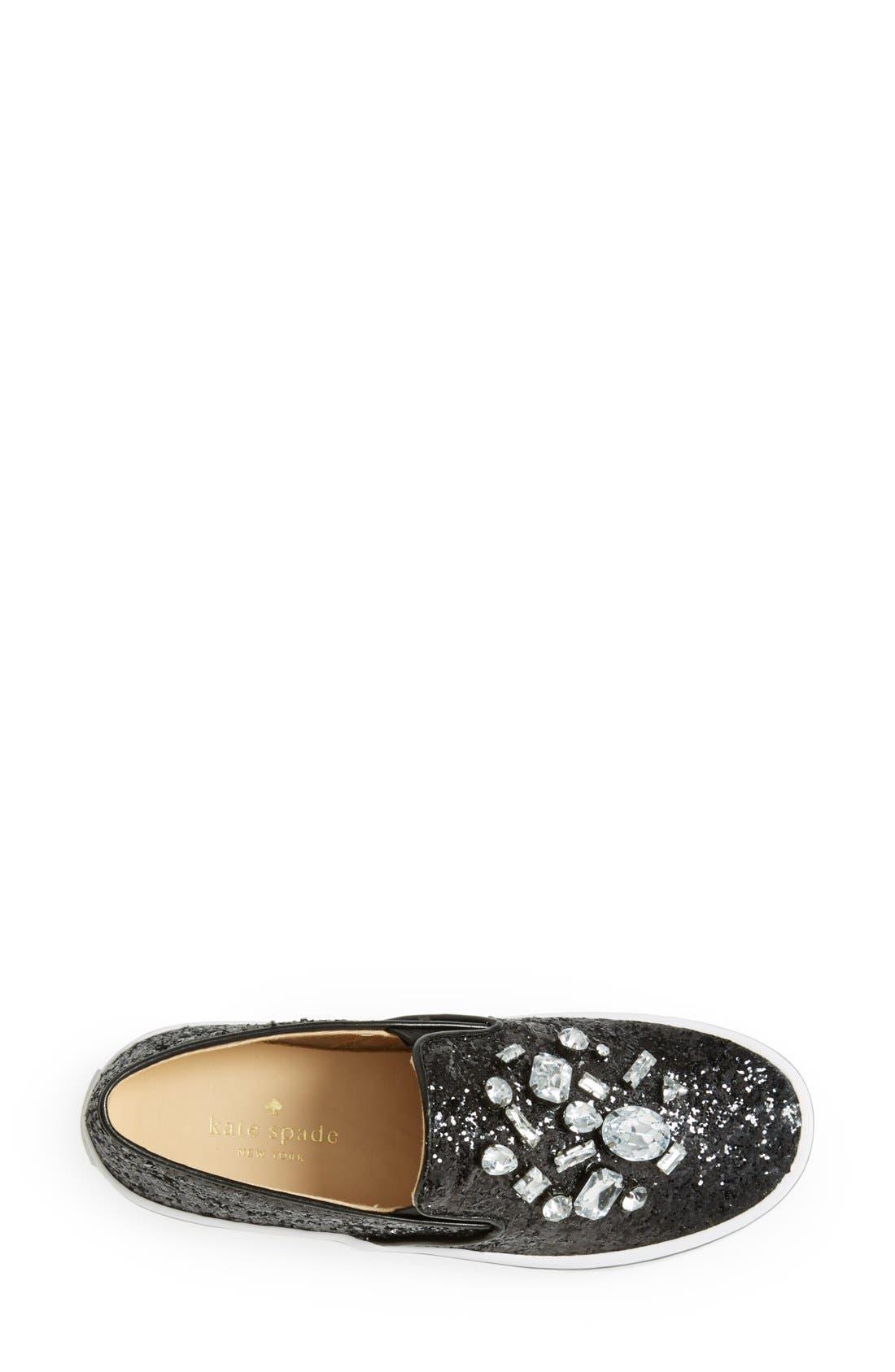 Alternate Image 3  - kate spade new york 'slater' slip-on sneaker (Women)