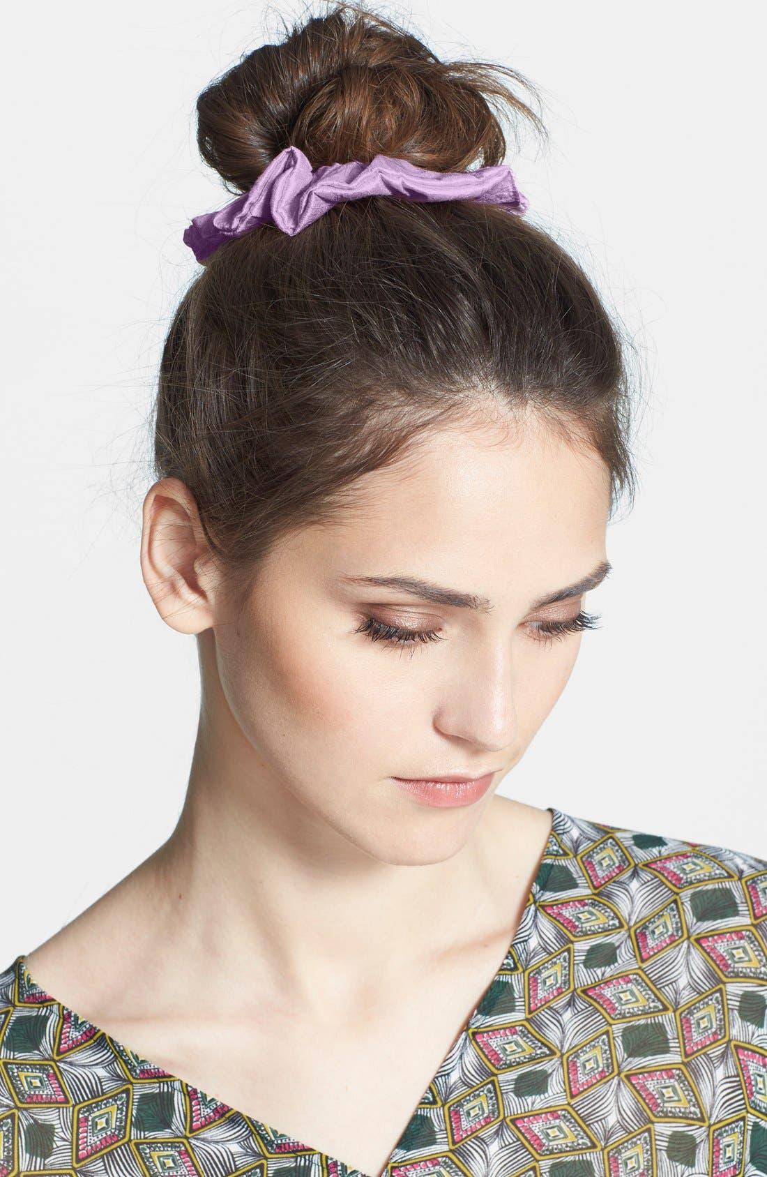 Main Image - L. Erickson 'Medium' Silk Scrunchie