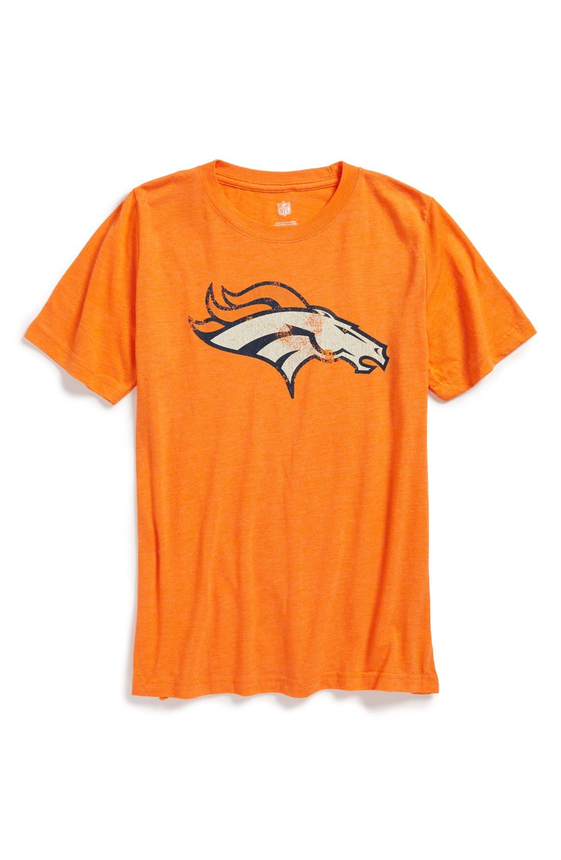 Alternate Image 1 Selected - Outerstuff 'NFL - Denver Broncos' Graphic T-Shirt (Big Boys)