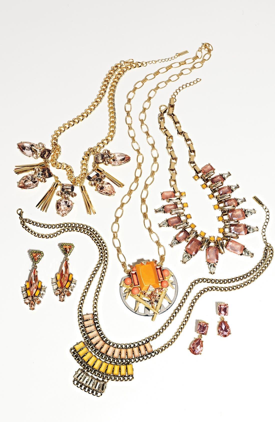 Alternate Image 3  - BaubleBar 'Jupiter Gem' Collar Necklace