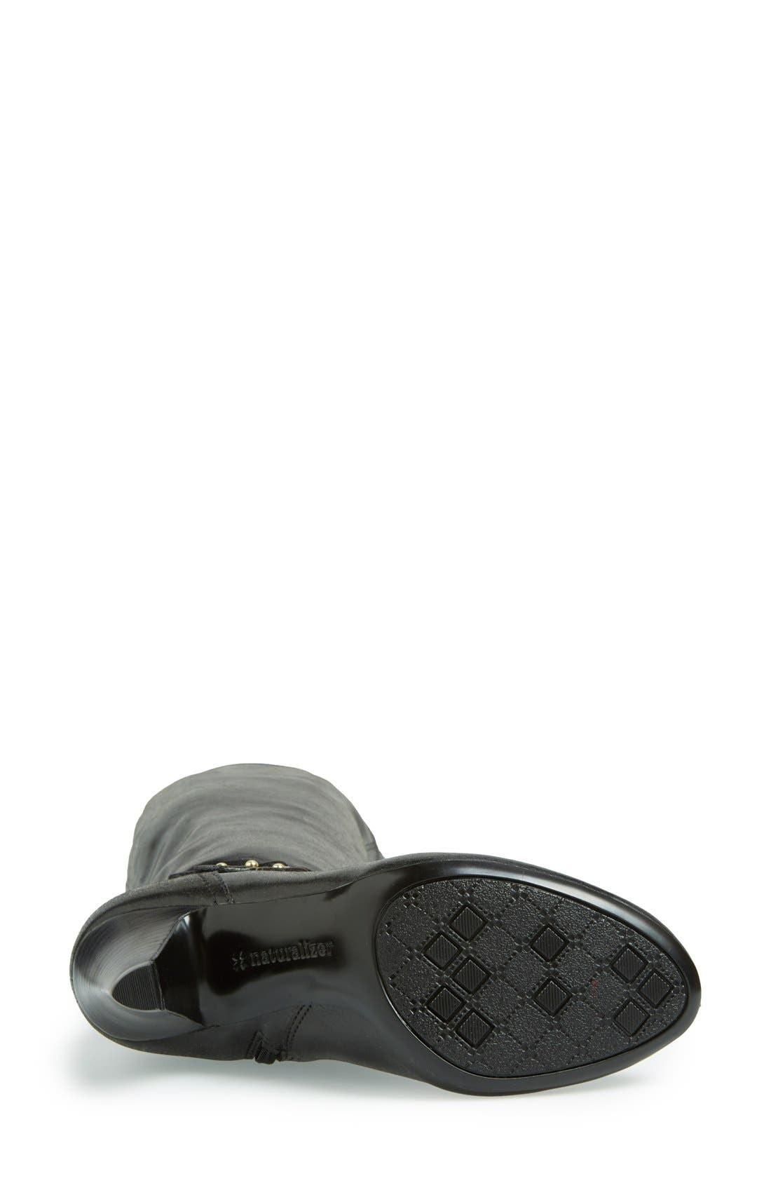 Alternate Image 4  - Naturalizer 'Byron' Knee High Boot (Women)(Wide Calf)