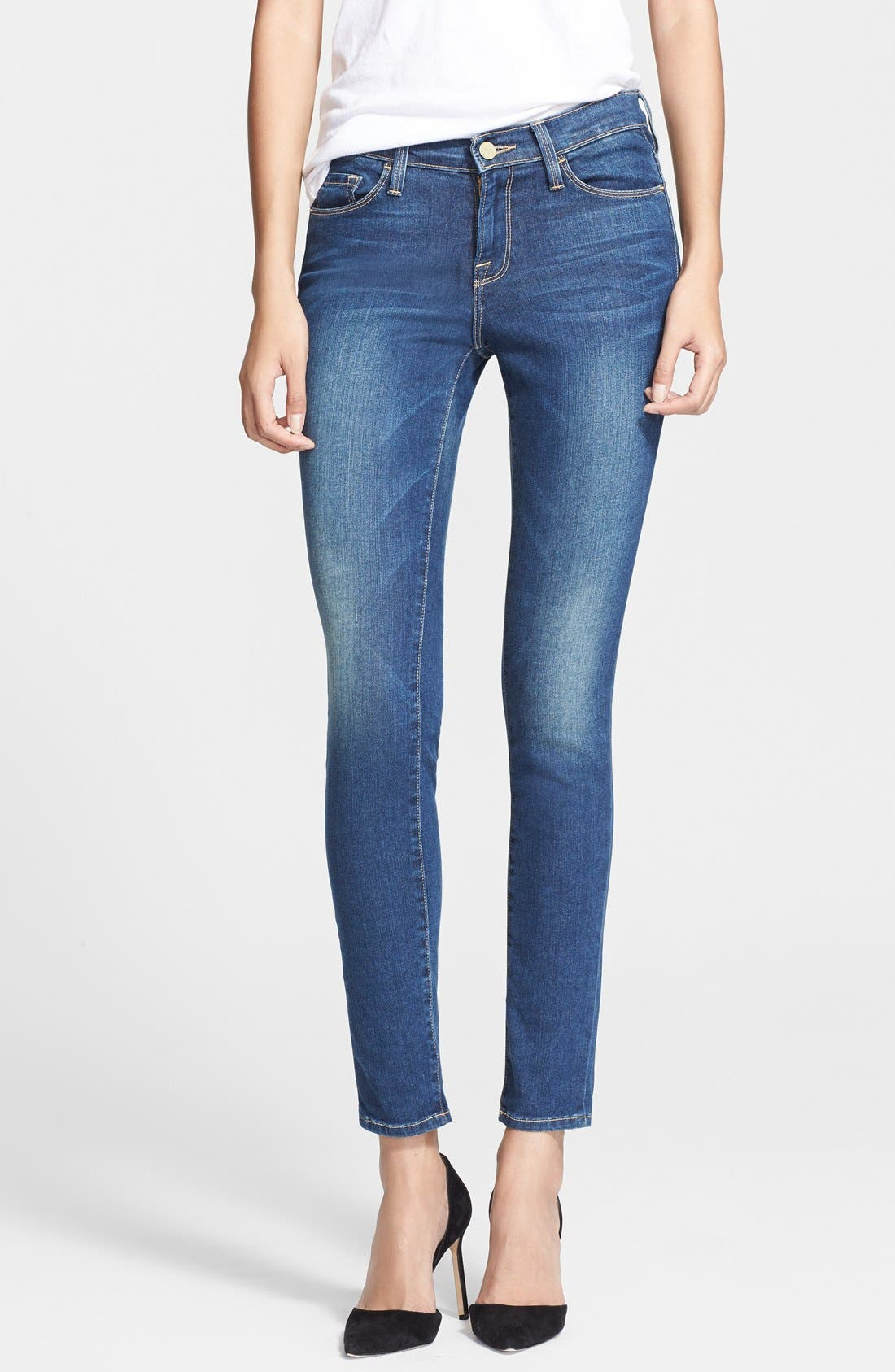Alternate Image 1 Selected - Frame Denim 'Le Skinny de Jeanne' Jeans (Columbia Road)