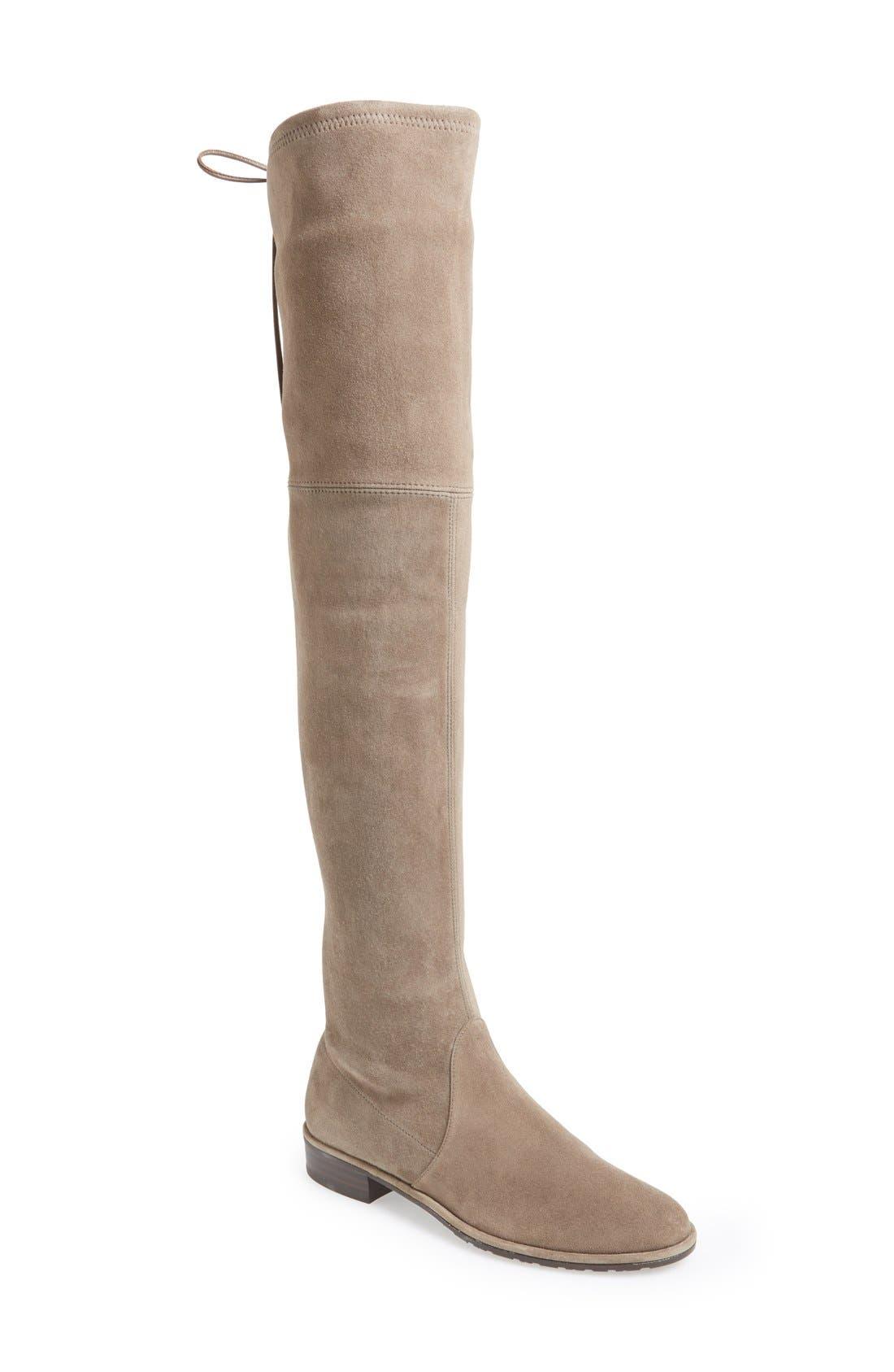 Alternate Image 1 Selected - Stuart Weitzman 'Lowland' Over the Knee Boot (Women)