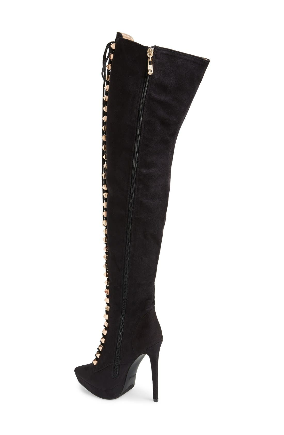 Alternate Image 2  - ZiGi girl 'Payce' Over The Knee Boot (Women)