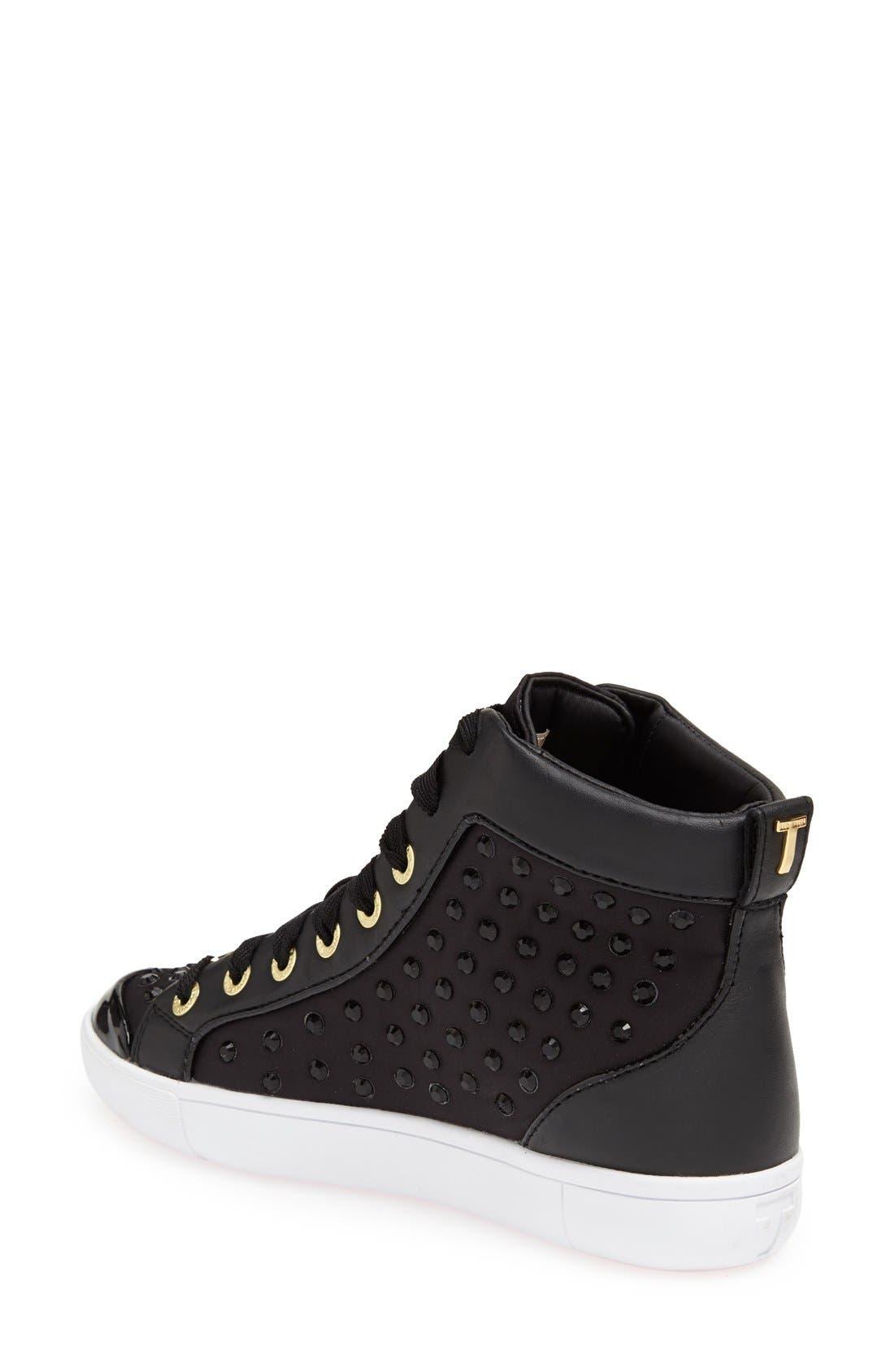 Alternate Image 2  - Ted Baker London 'Beatrin' High Top Sneaker (Women)