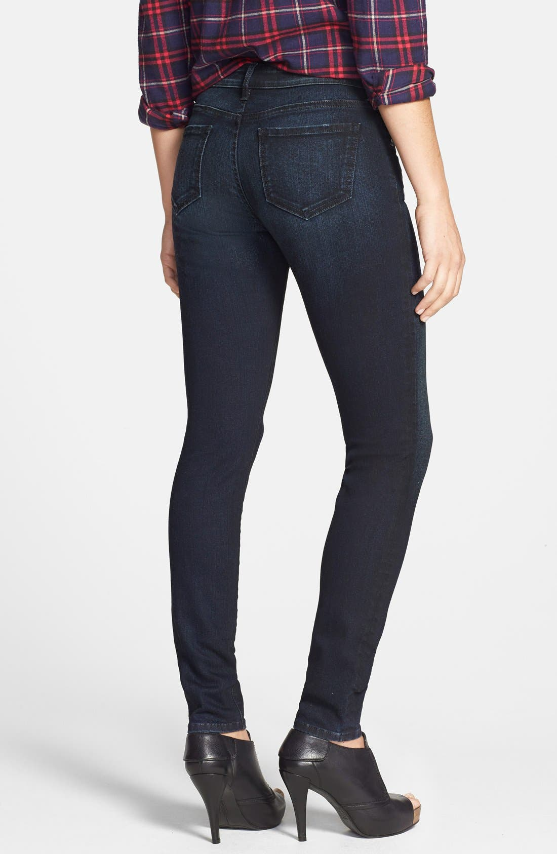 Alternate Image 2  - KUT from the Kloth 'Diana' Zip Detail Stretch Skinny Jeans (Privileged)