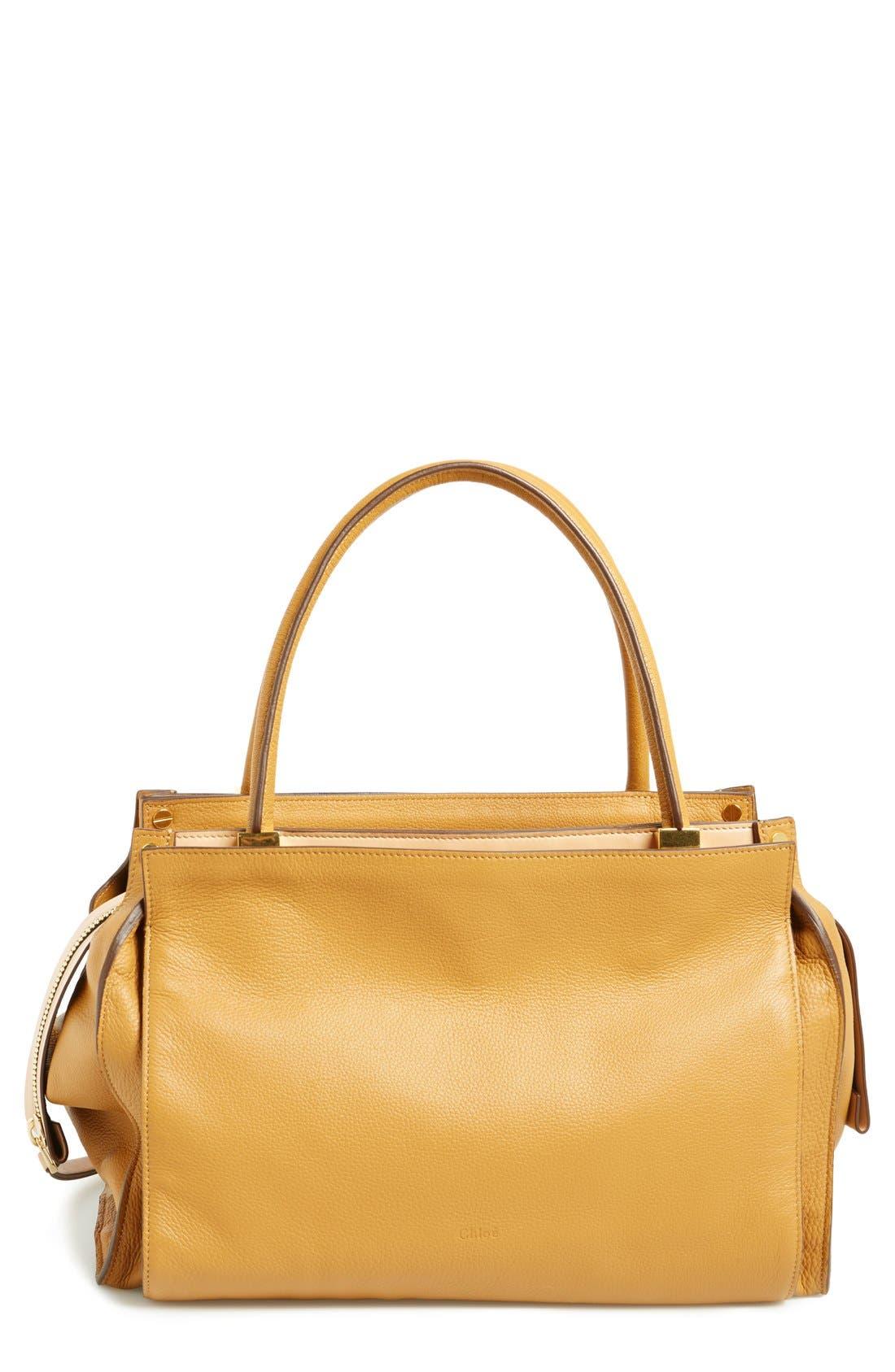 Alternate Image 1 Selected - Chloé 'Dree - Medium' Leather Satchel