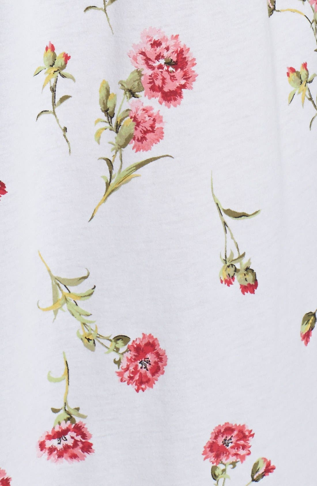 Alternate Image 3  - Carole Hochman Designs 'Forever Carnation' Long Nightgown