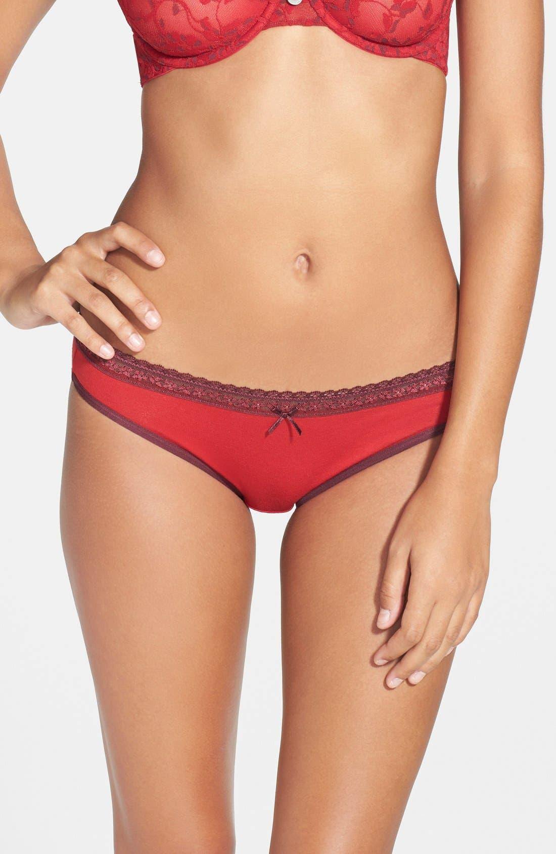 Main Image - DKNY 'Delicate Essentials' Bikini (3 for $30)