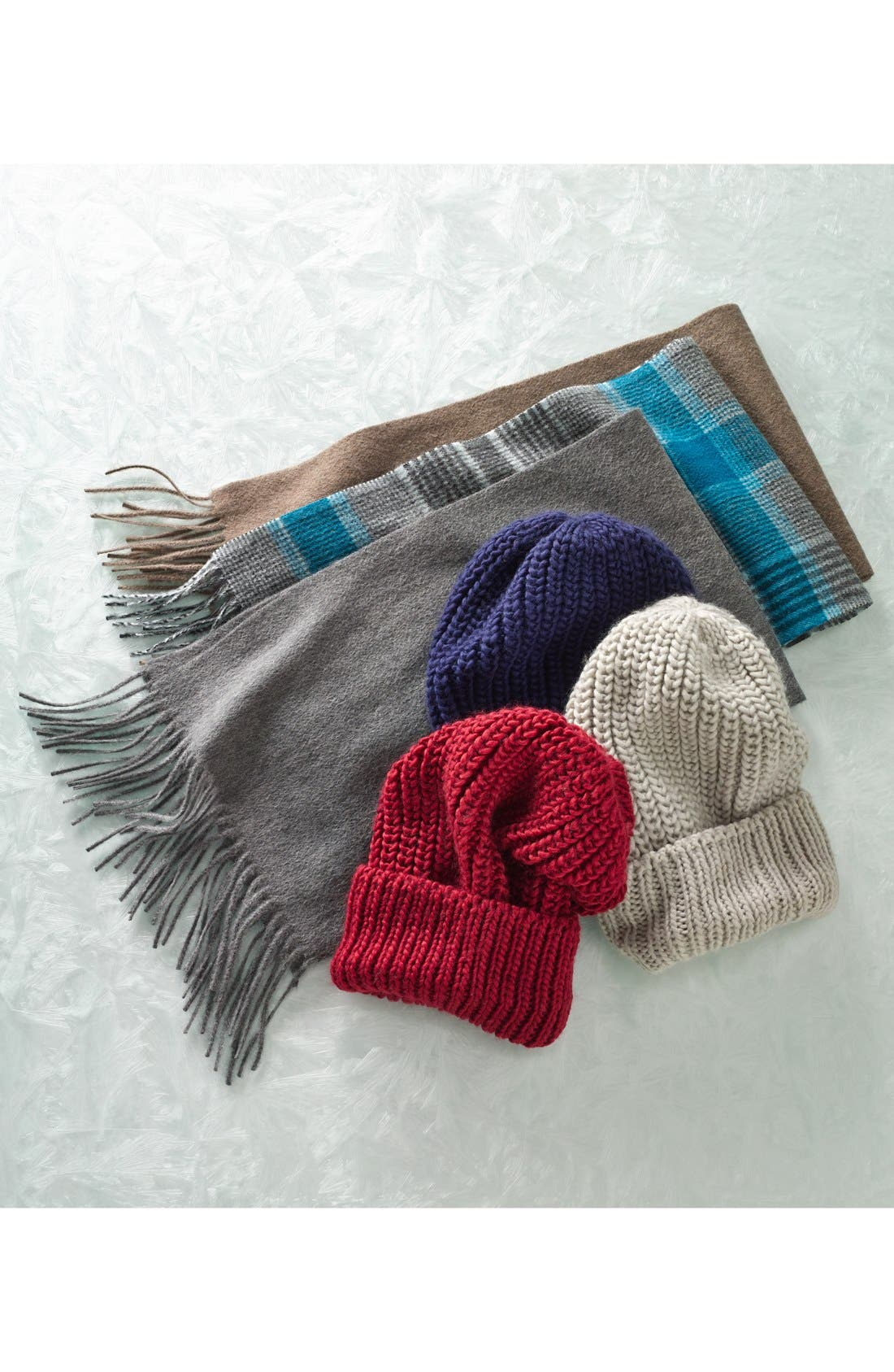 Alternate Image 3  - Nordstrom Solid Woven Cashmere Scarf