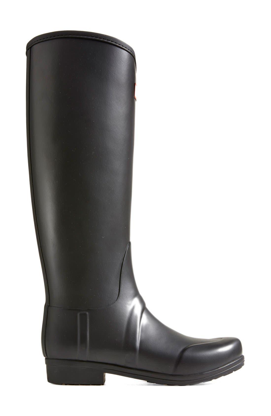 Alternate Image 7  - Hunter 'Sandhurst' Tall Rain Boot (Women)