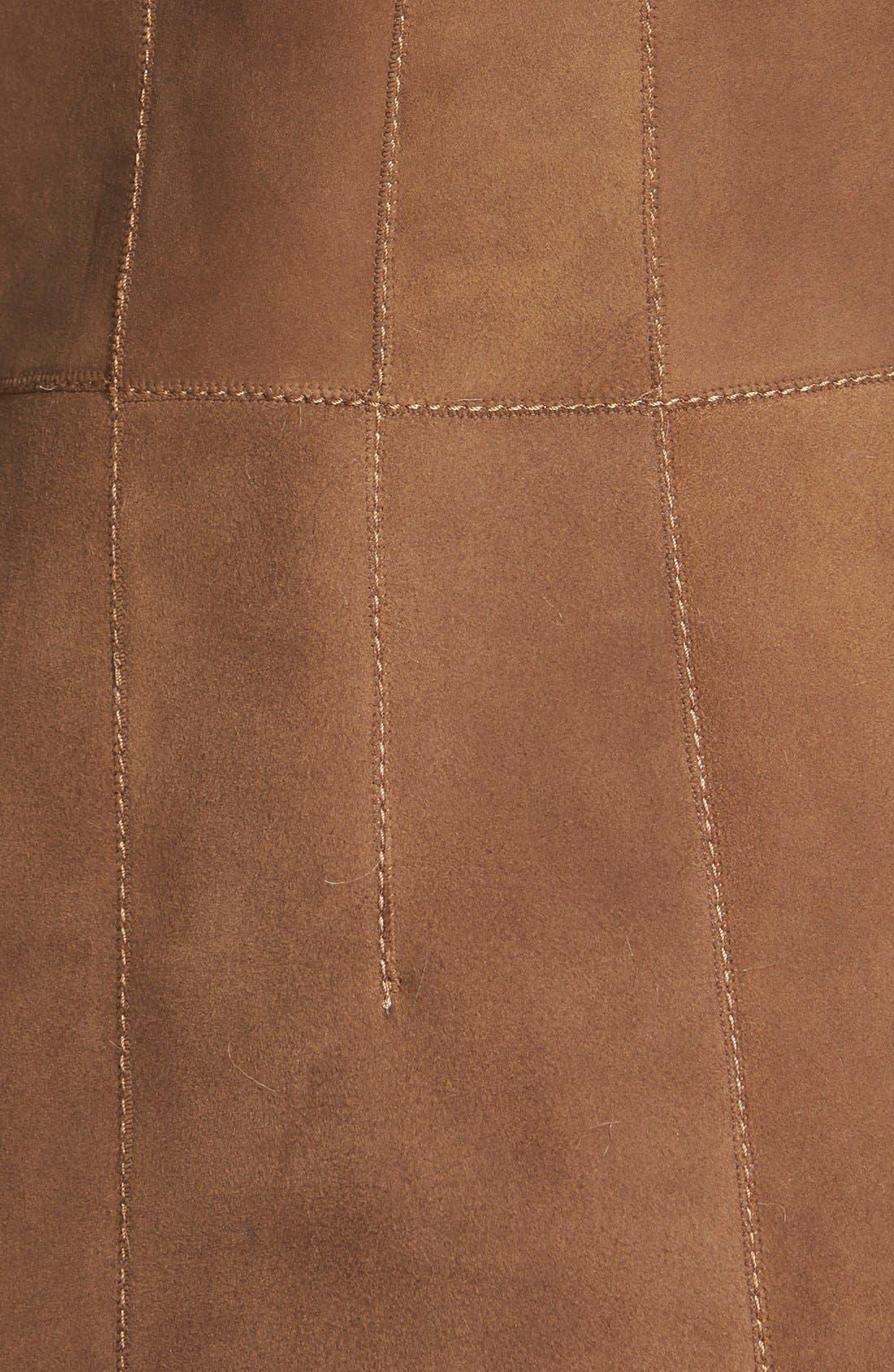 Alternate Image 3  - HIDESOCIETY Envelope Collar Genuine Toscana Shearling Coat