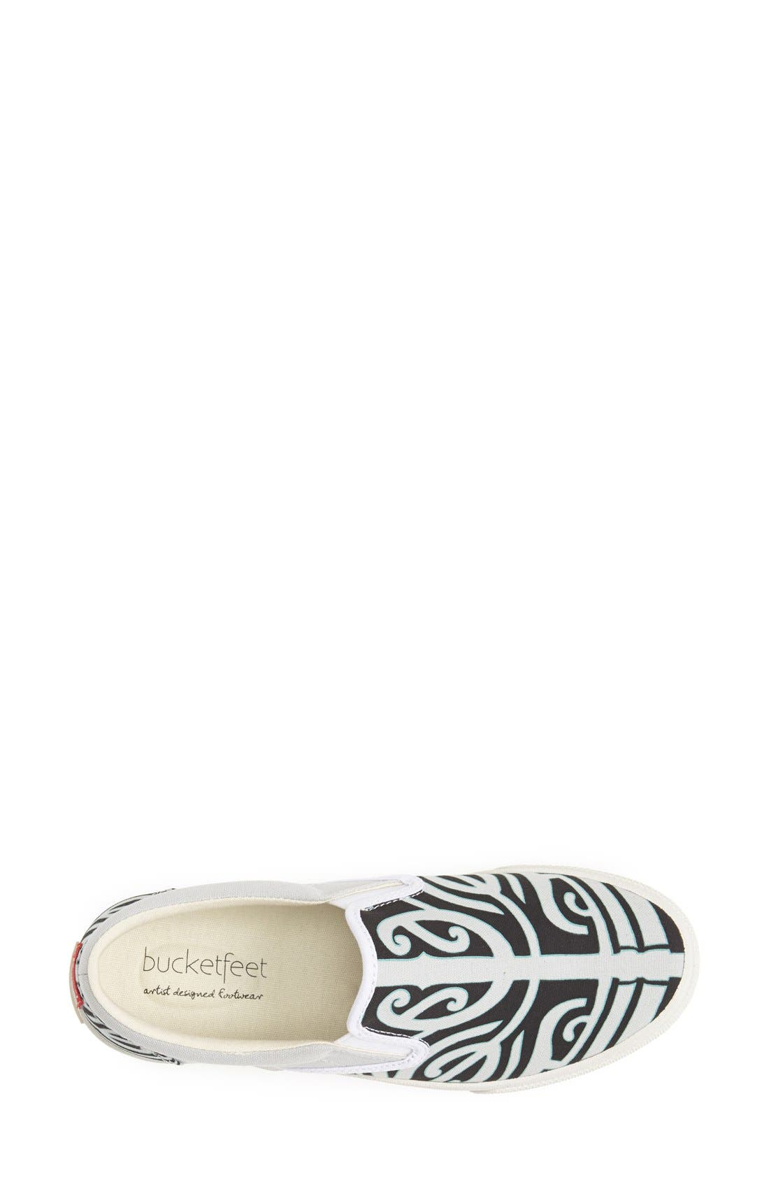 Alternate Image 3  - BucketFeet 'Tatau' Slip-On Canvas Sneaker (Women)