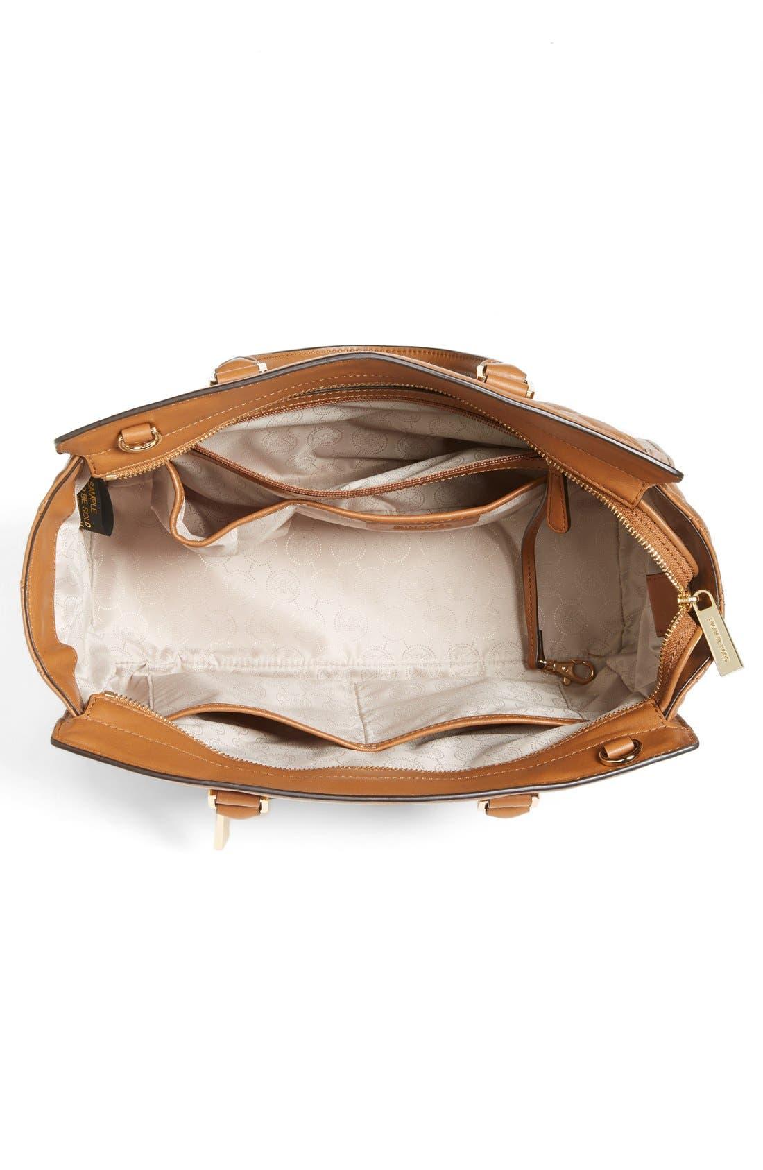 Alternate Image 3  - MICHAEL Michael Kors 'Large Selma' Quilted Leather Satchel