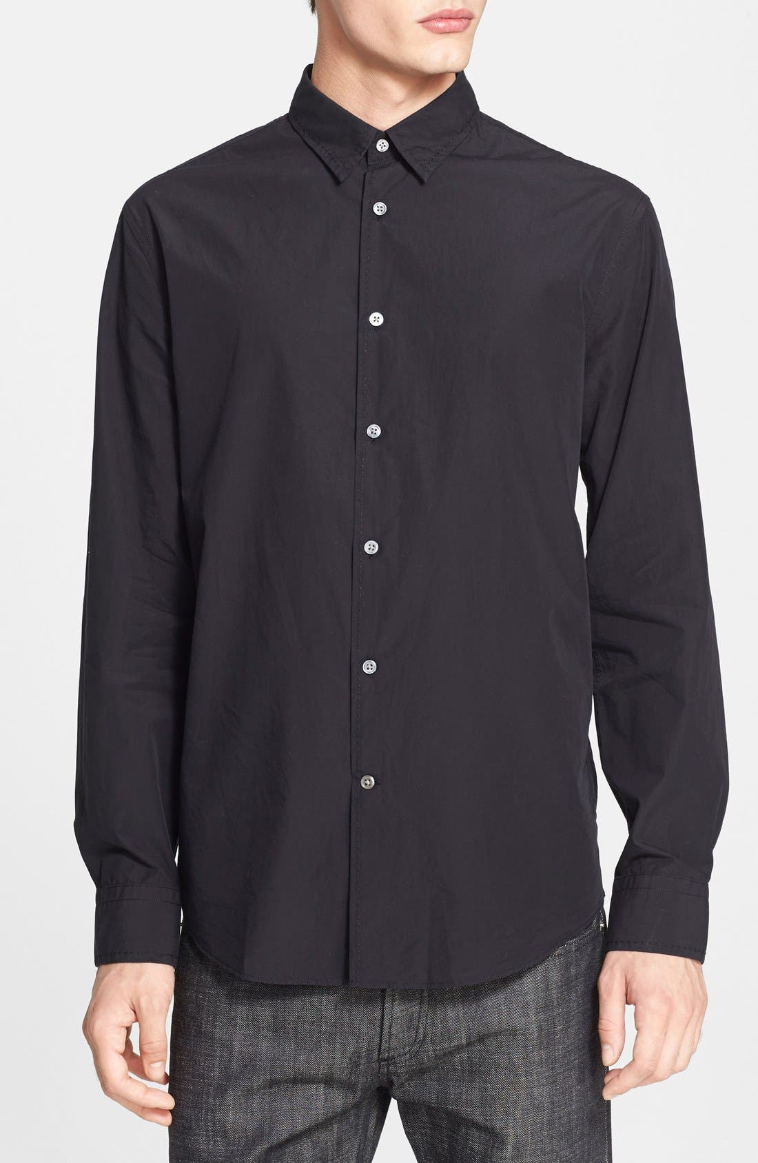 Alternate Image 1 Selected - John Varvatos Collection Extra Trim Fit Sport Shirt