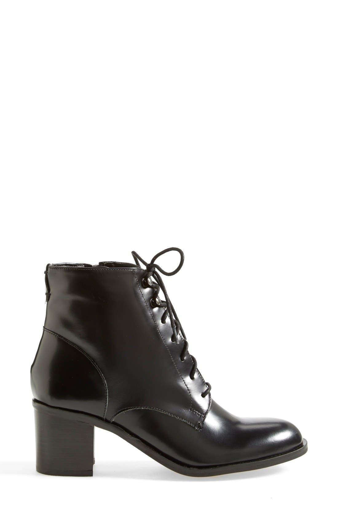Alternate Image 7  - Sam Edelman 'Jardin' Leather Bootie (Women)