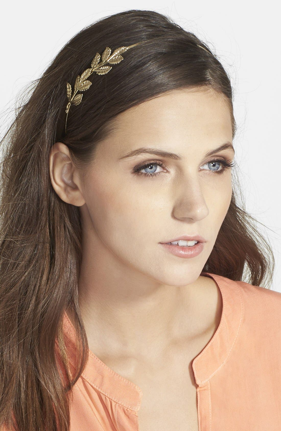 Alternate Image 1 Selected - Berry 'Pretty Leaf' Headband
