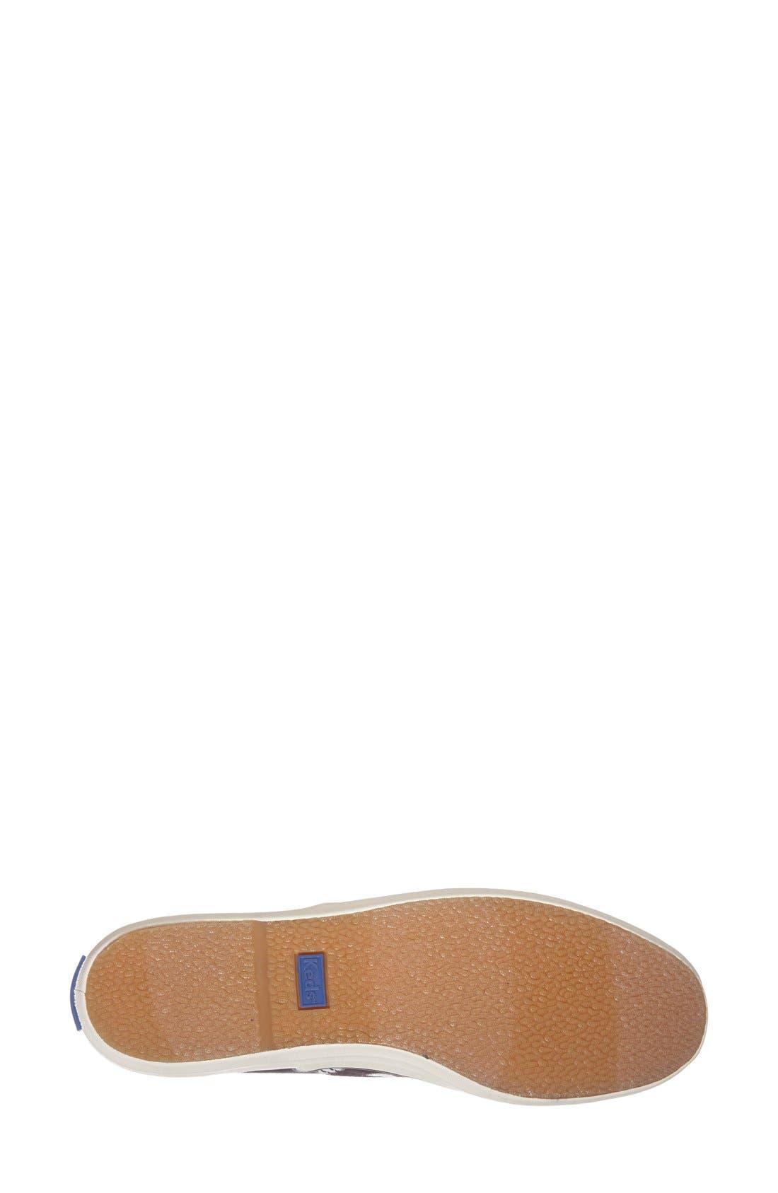 Alternate Image 4  - Keds® 'Champion - Glitter Dot' Canvas Sneaker (Women) (Regular Retail Price: $49.95)
