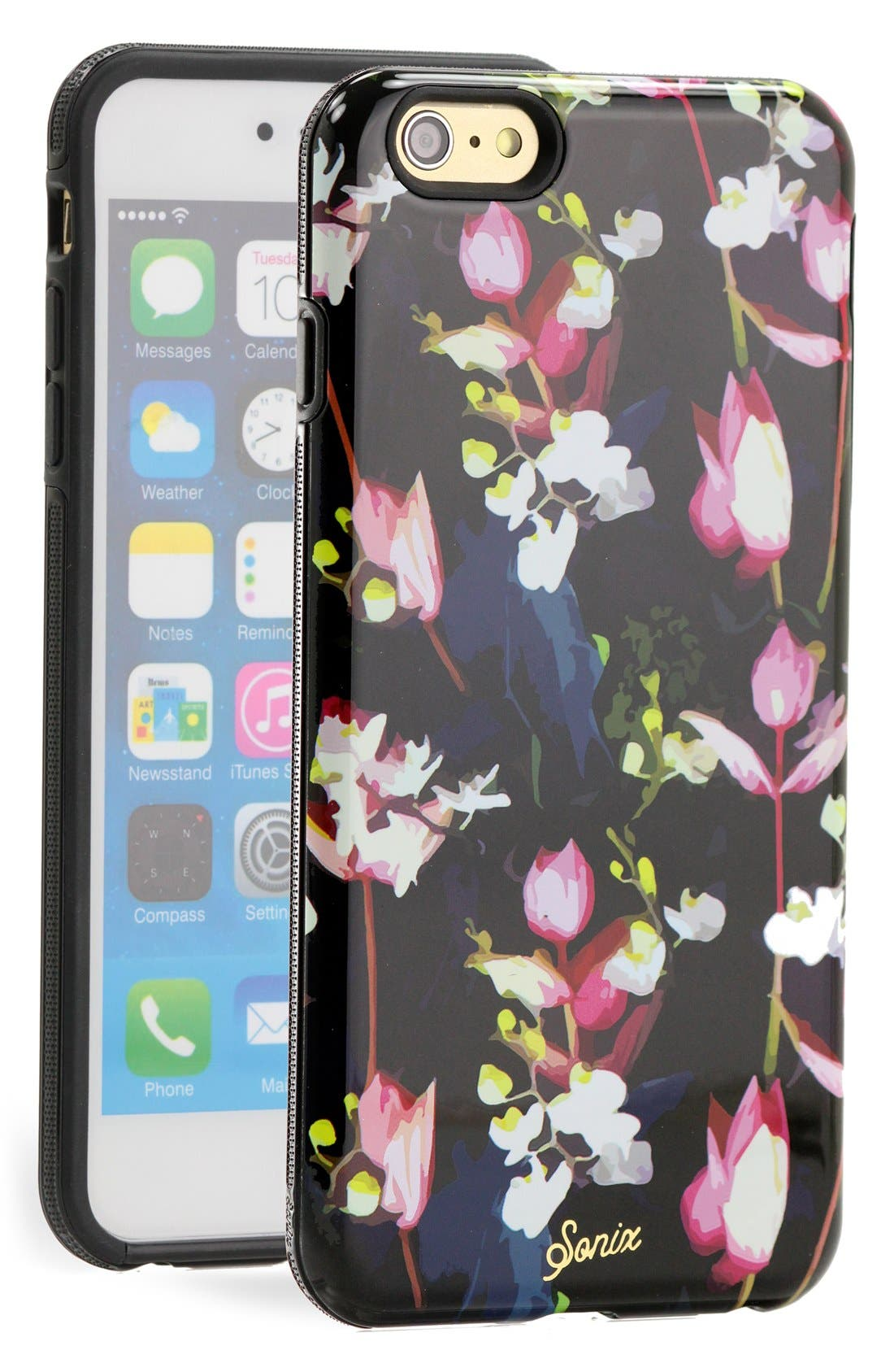 Alternate Image 1 Selected - Sonix 'Black Orchid' iPhone 6 Plus Case