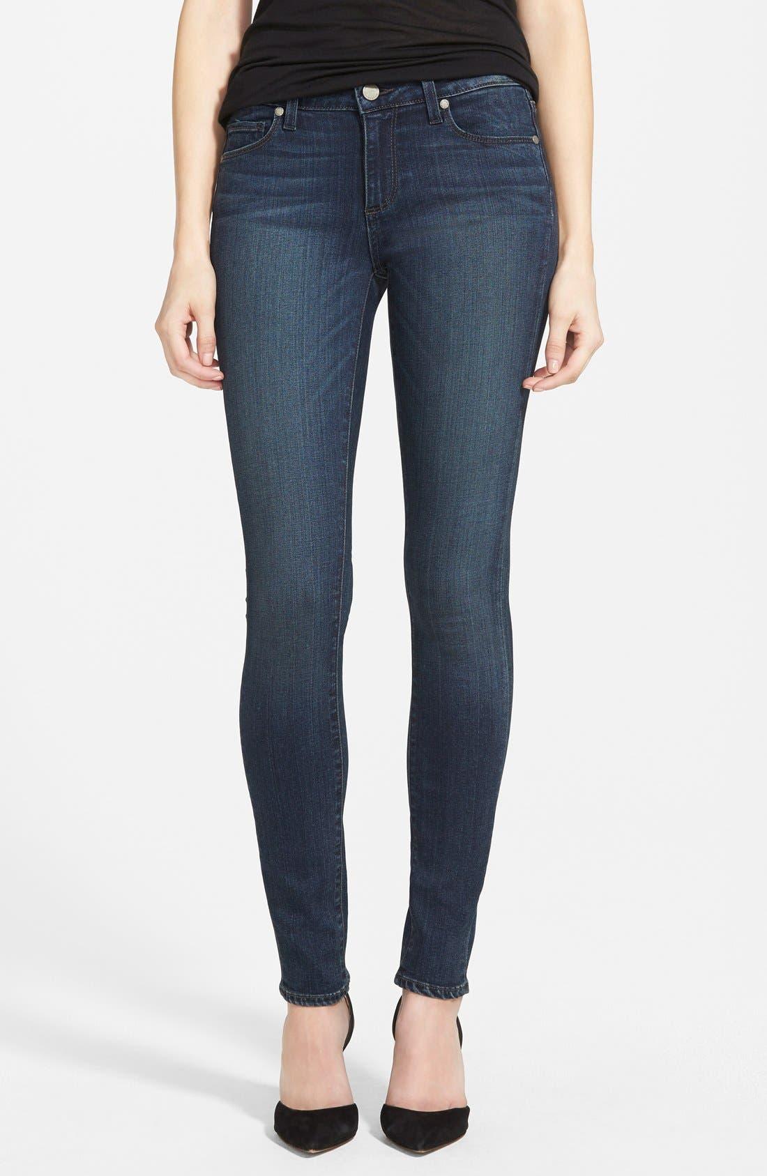 Main Image - Paige Denim 'Transcend - Verdugo' Ultra Skinny Jeans (Franklin)
