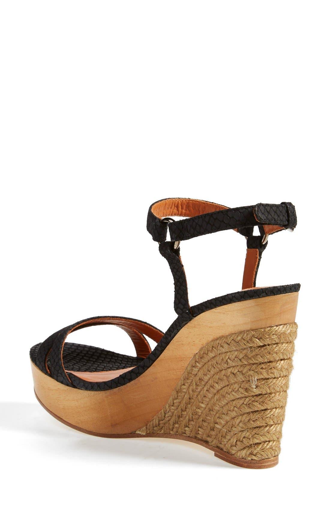 Alternate Image 2  - Lanvin Espadrille Wedge Sandal (Women)