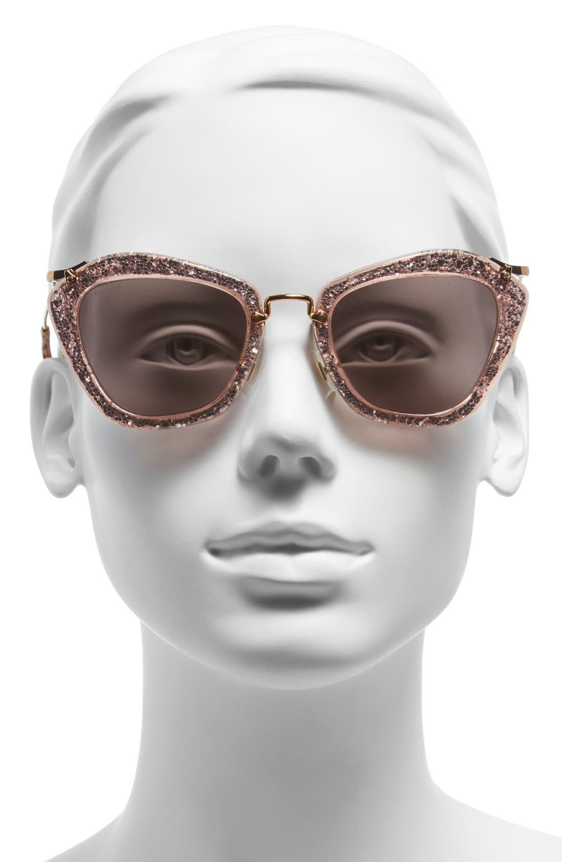 Alternate Image 2  - Miu Miu 55mm Sunglasses