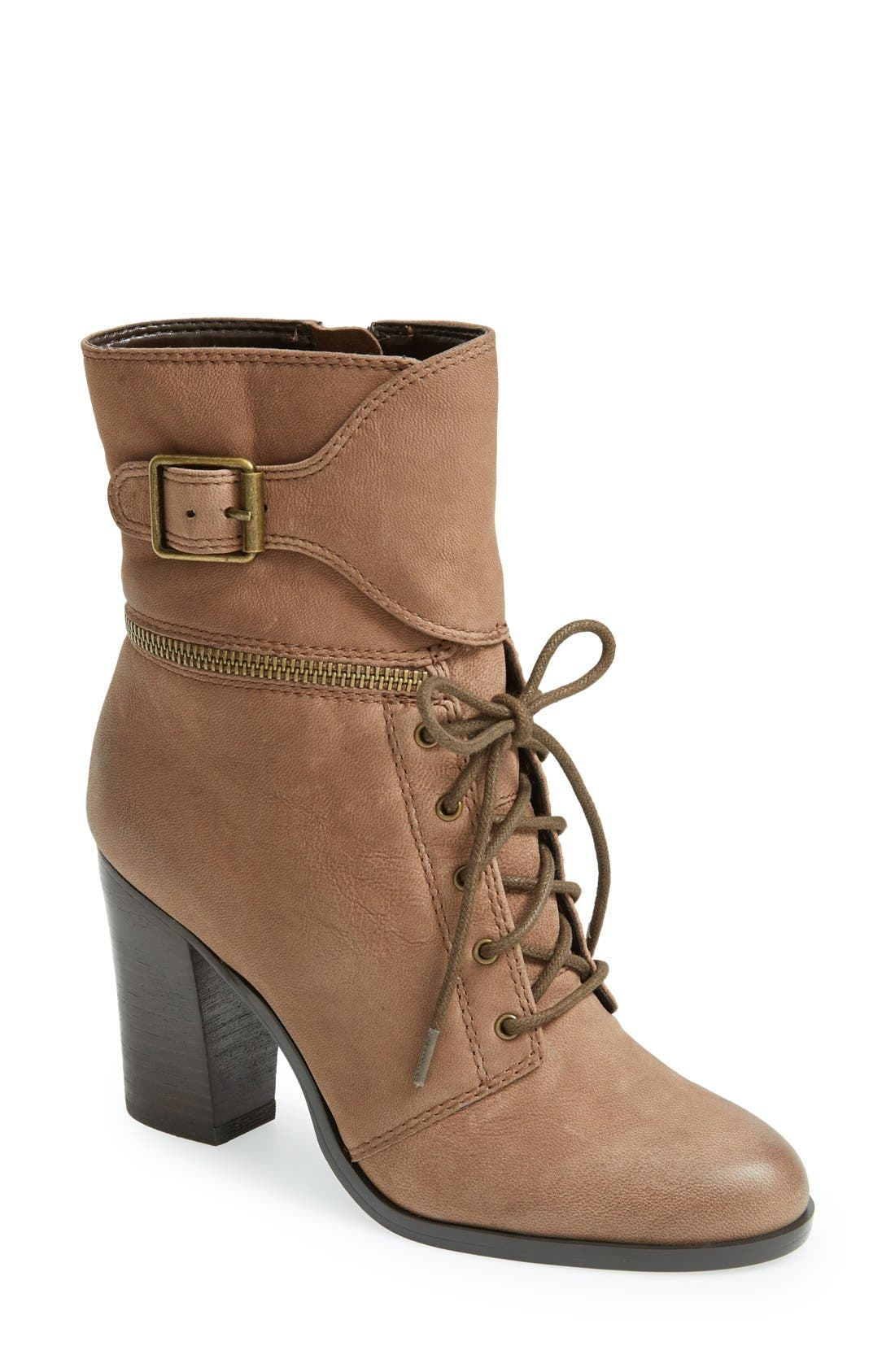 Alternate Image 1 Selected - T Tahari 'Farah' Leather Bootie (Women)