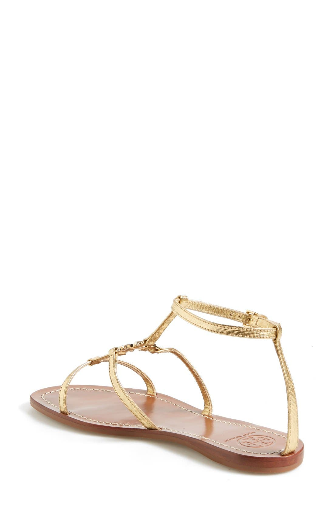 Alternate Image 2  - Tory Burch 'Lowell' Leather Sandal (Women)