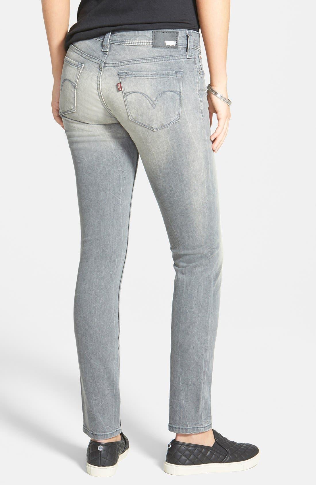 Alternate Image 2  - Levi's® Demi Curve Jeans (Sunset Grey)