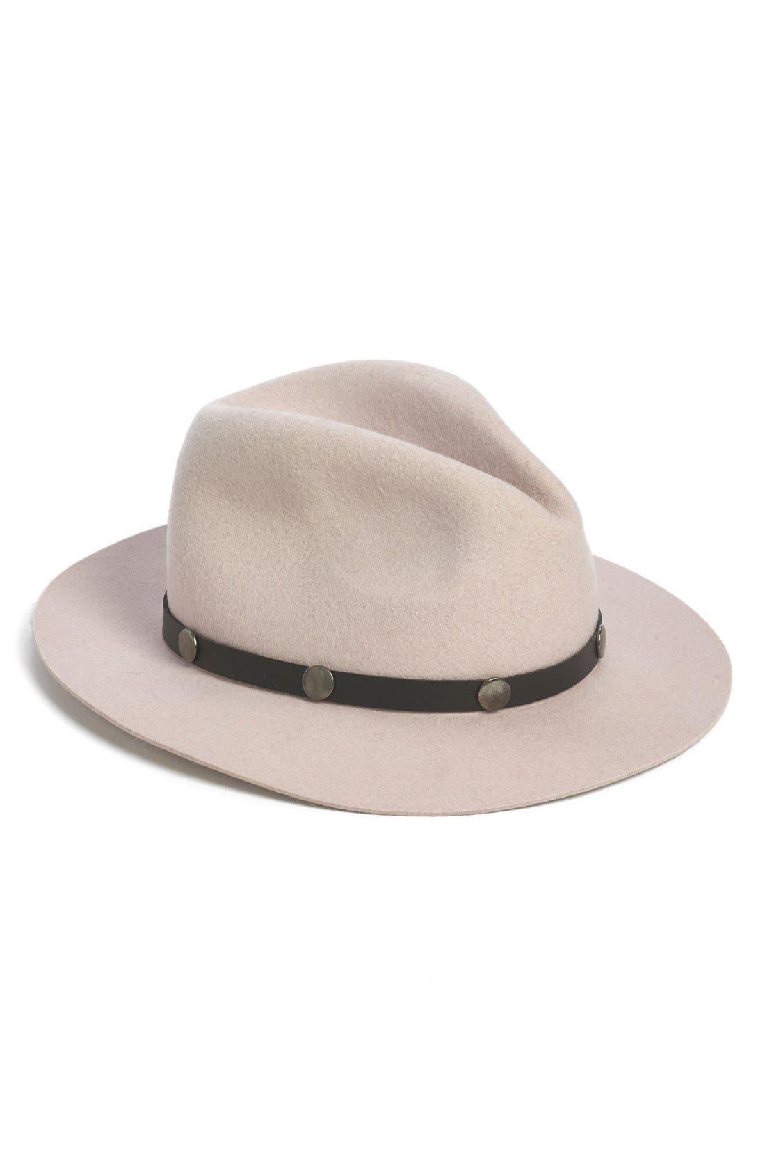 Alternate Image 1 Selected - BP. Studded Felt Panama Hat (Juniors)