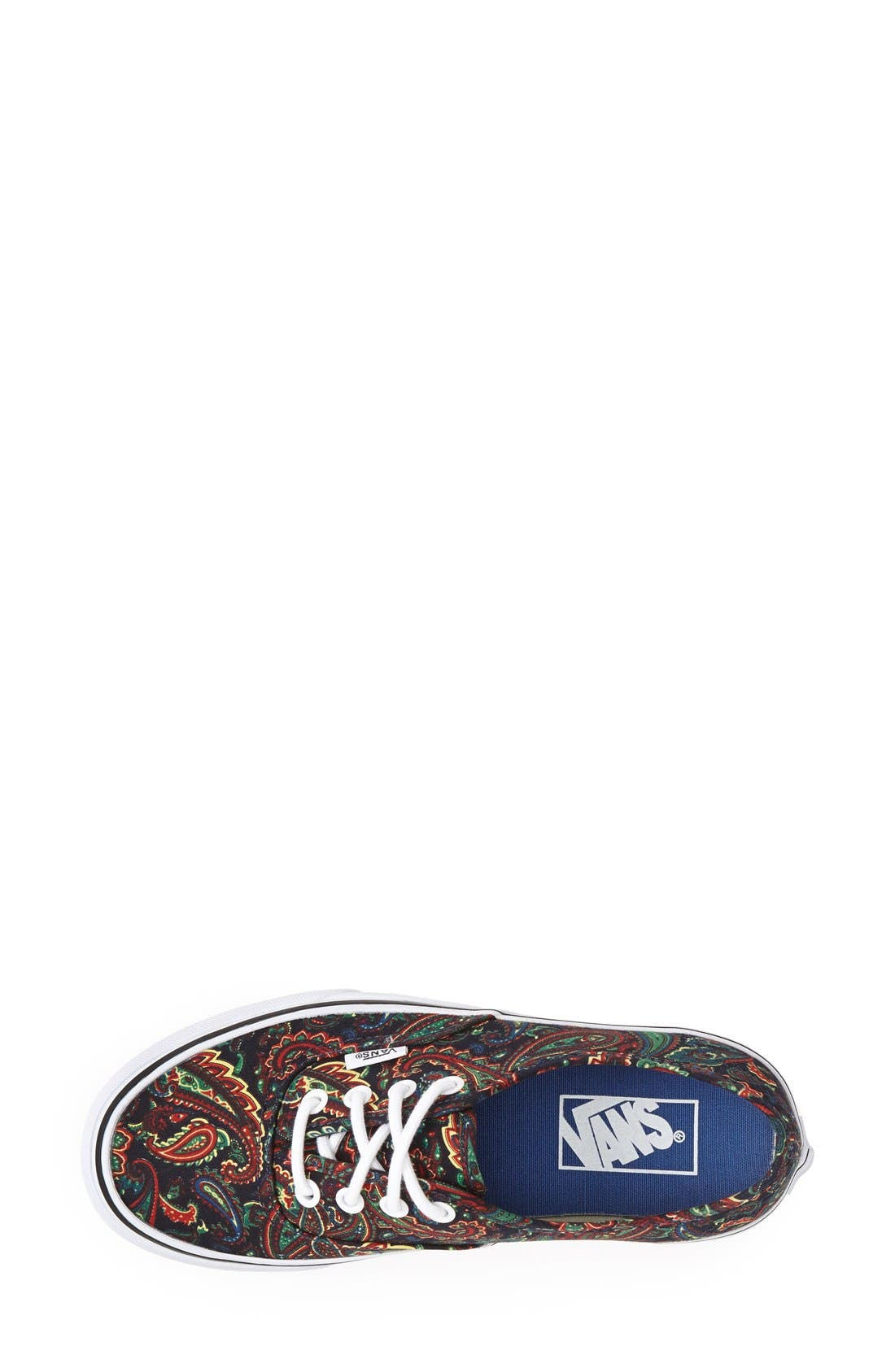 Alternate Image 3  - Vans Authentic Paisley Print Sneaker (Women)