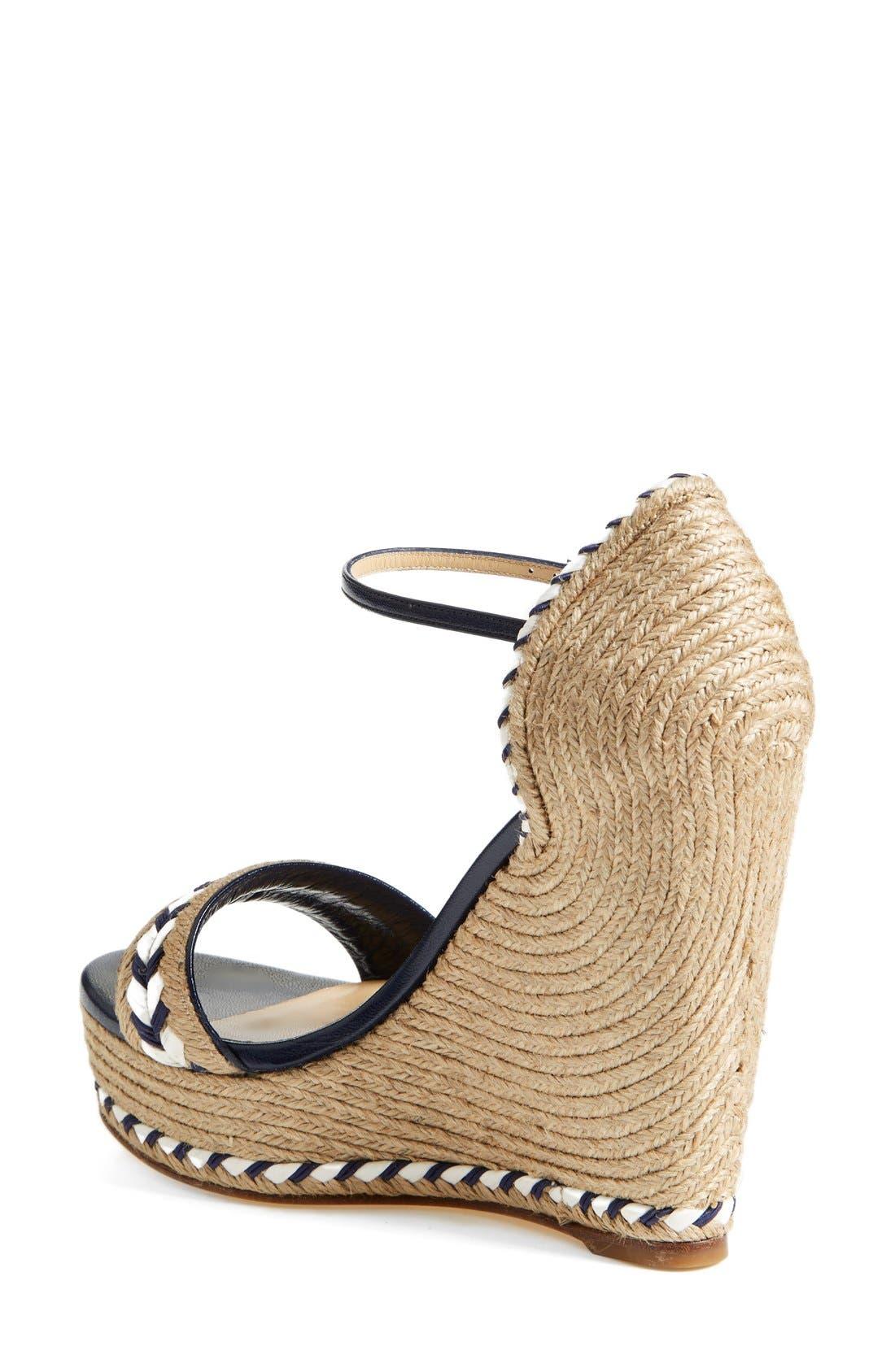 Alternate Image 2  - Gucci 'Tiffany' Wedge Sandal (Women)