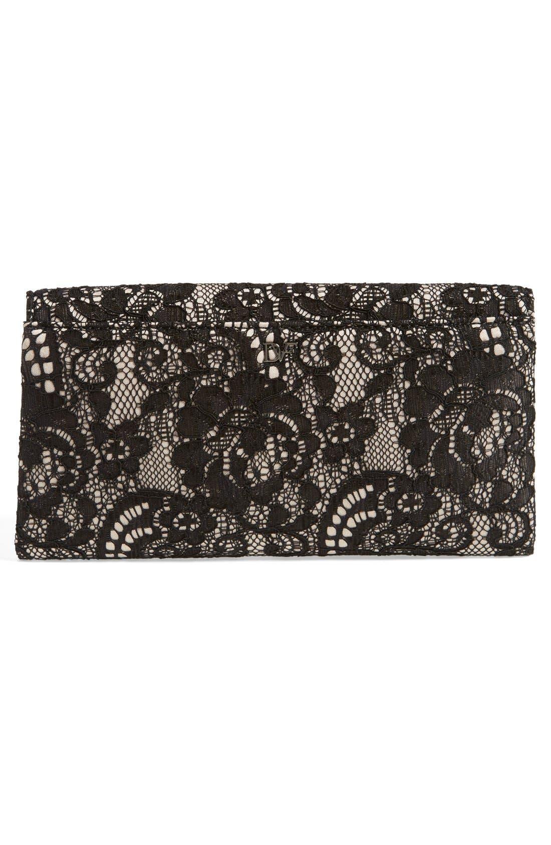 Alternate Image 4  - Diane von Furstenberg '440 - Lace' Envelope Clutch